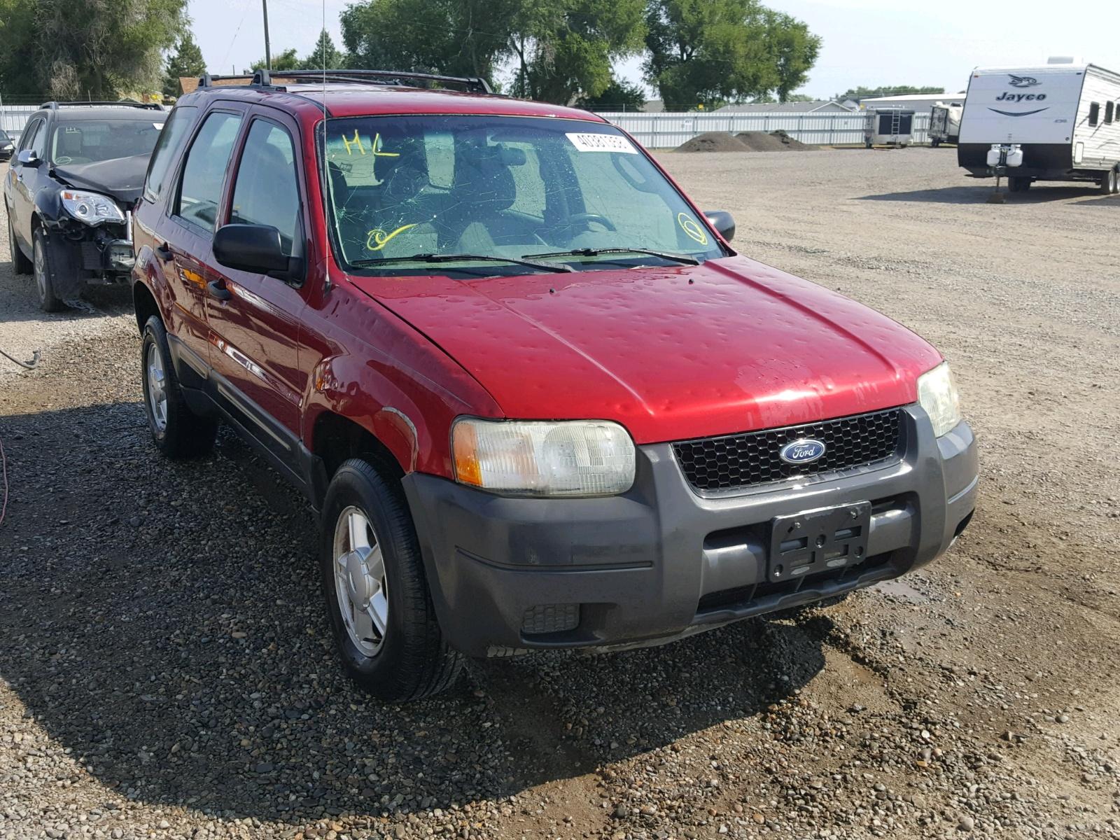 2003 Ford Escape XLS for sale at Copart Billings MT Lot