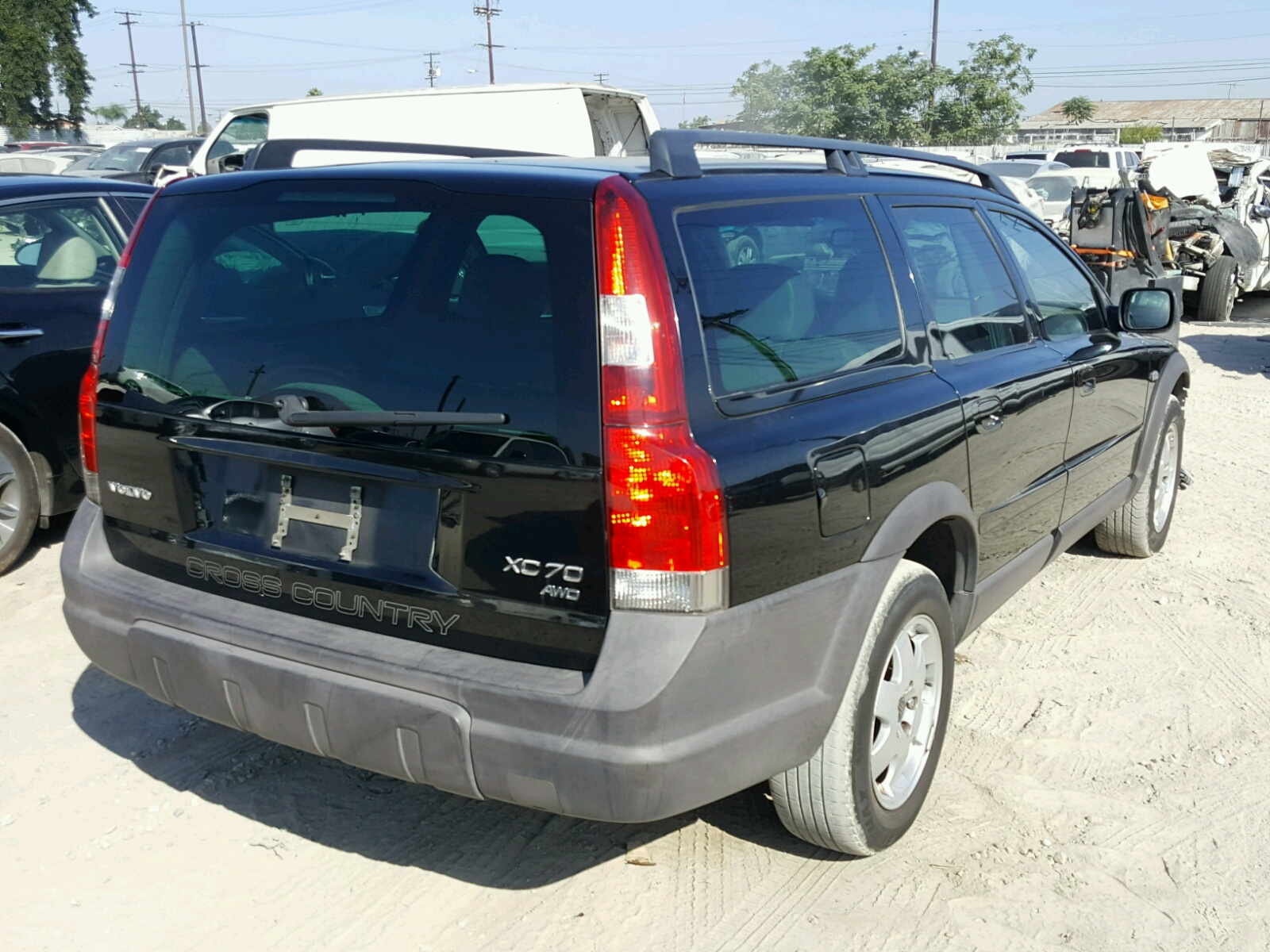2004 Volvo Xc70 For Sale At Copart Los Angeles Ca Lot 46505548 Cross Country