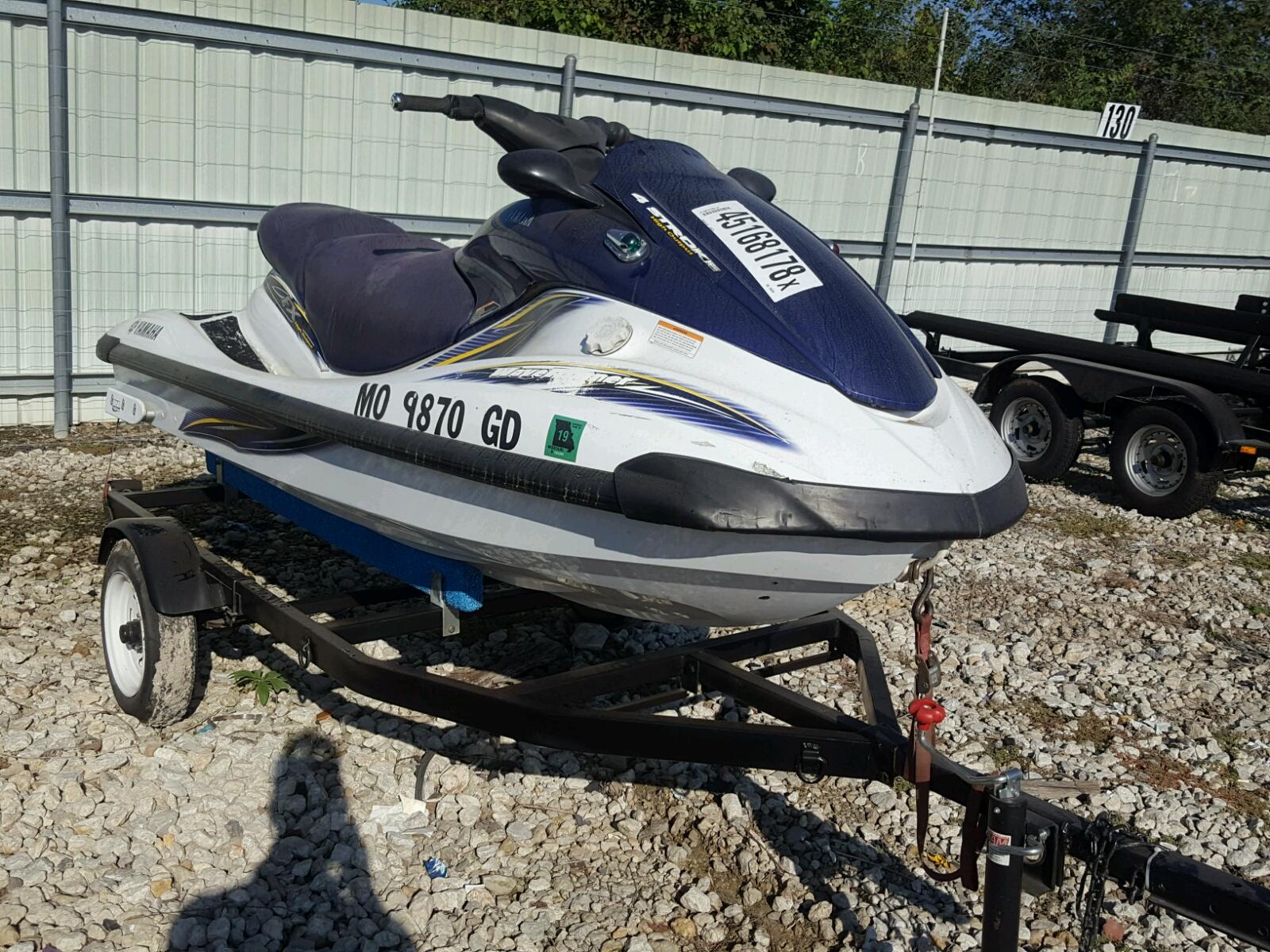 Salvage 2004 Yamaha FX1100B for sale