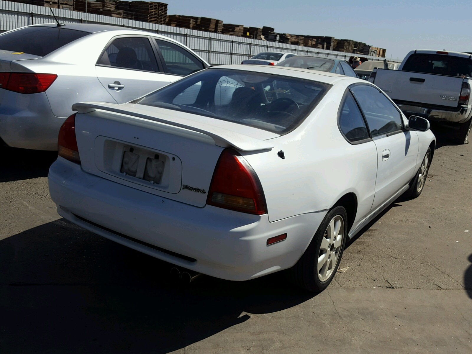1992 Honda Prelude Si For Sale At Copart Fresno Ca Lot 46931438