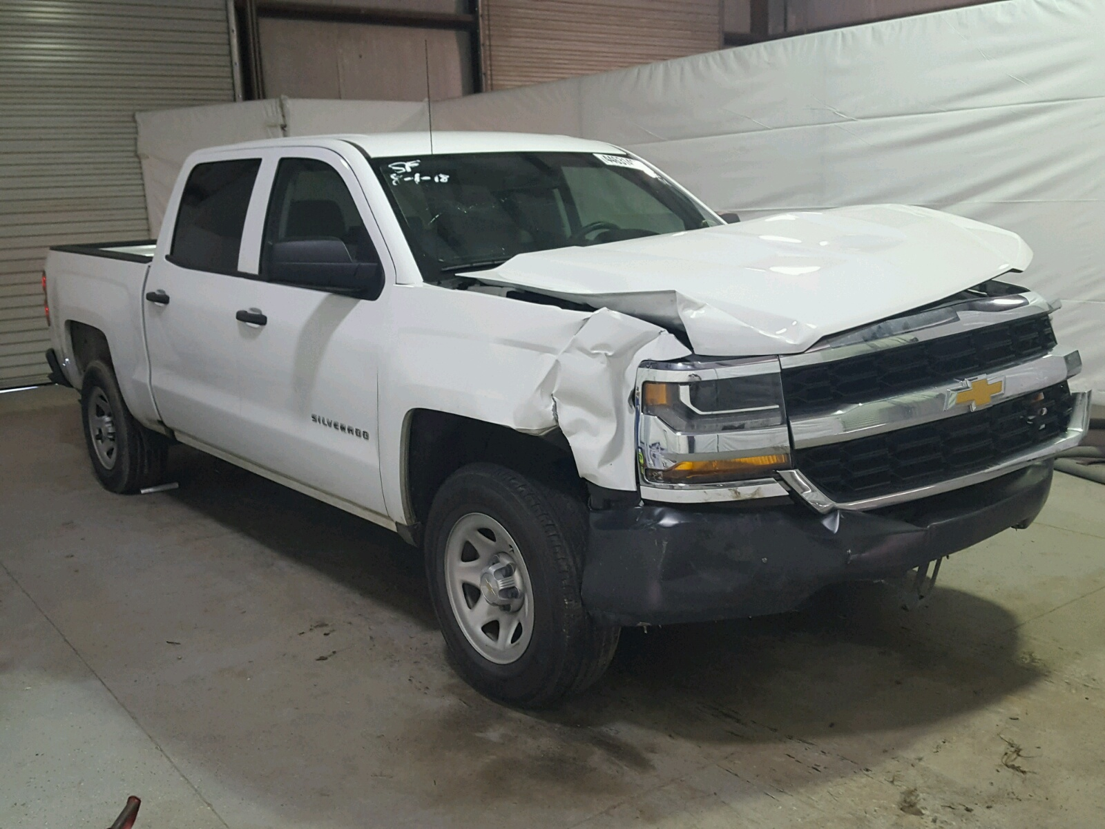 Salvage 2017 Chevrolet SILVERADO for sale