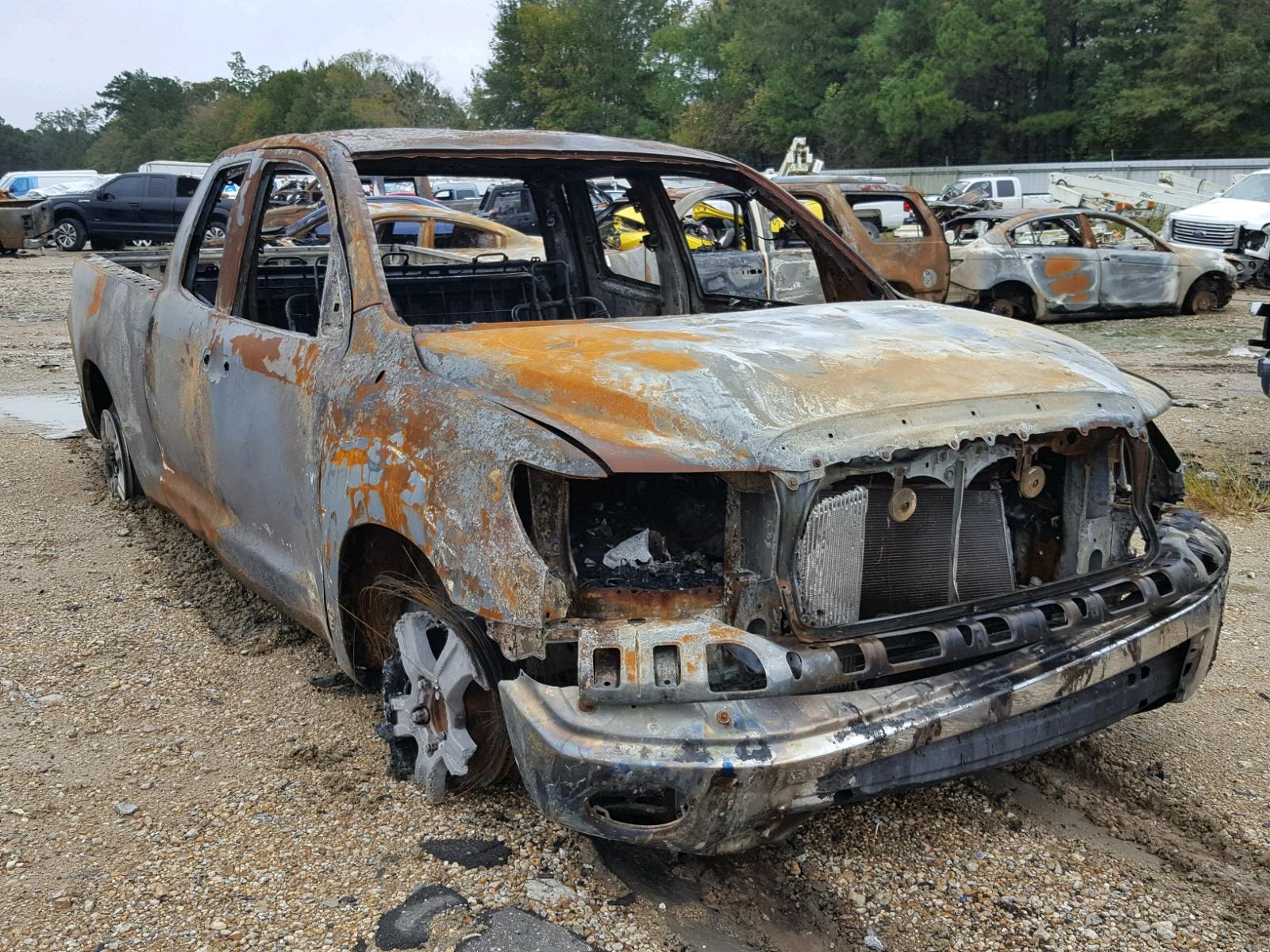 Salvage 2008 Toyota TUNDRA DOU for sale