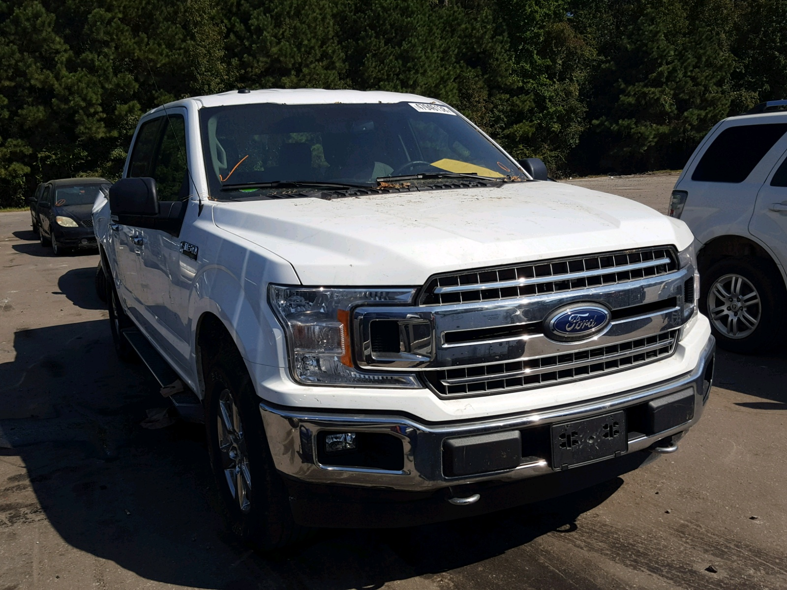 Salvage 2018 Ford F150 SUPER for sale