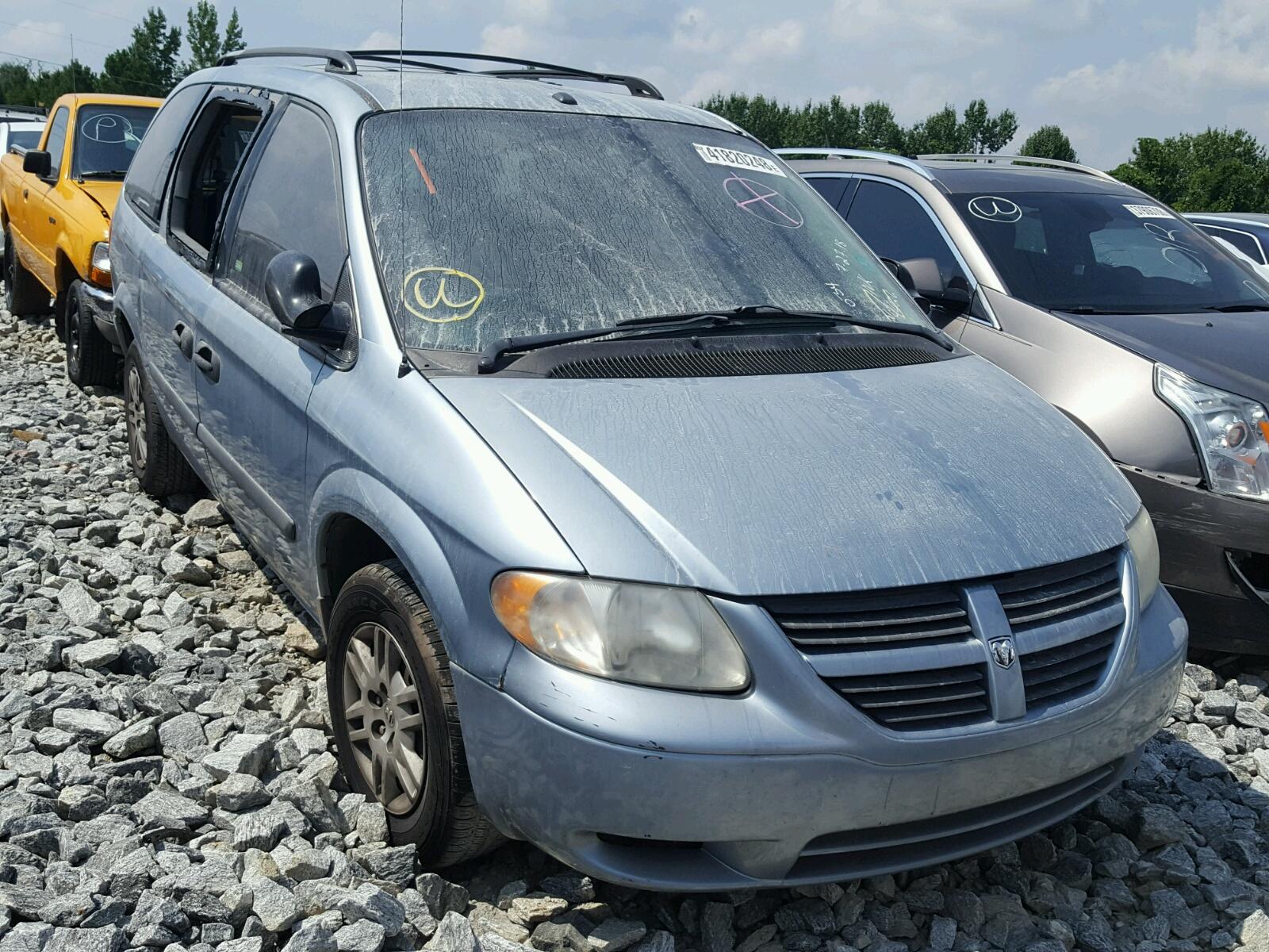 Salvage 2006 Dodge GRAND CARAVAN for sale