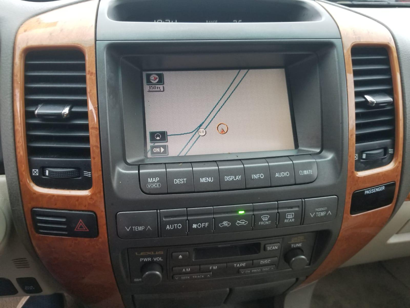 2005 Lexus Gx 470 For Sale At Copart New Britain Ct Lot 51577968 Land Cruiser