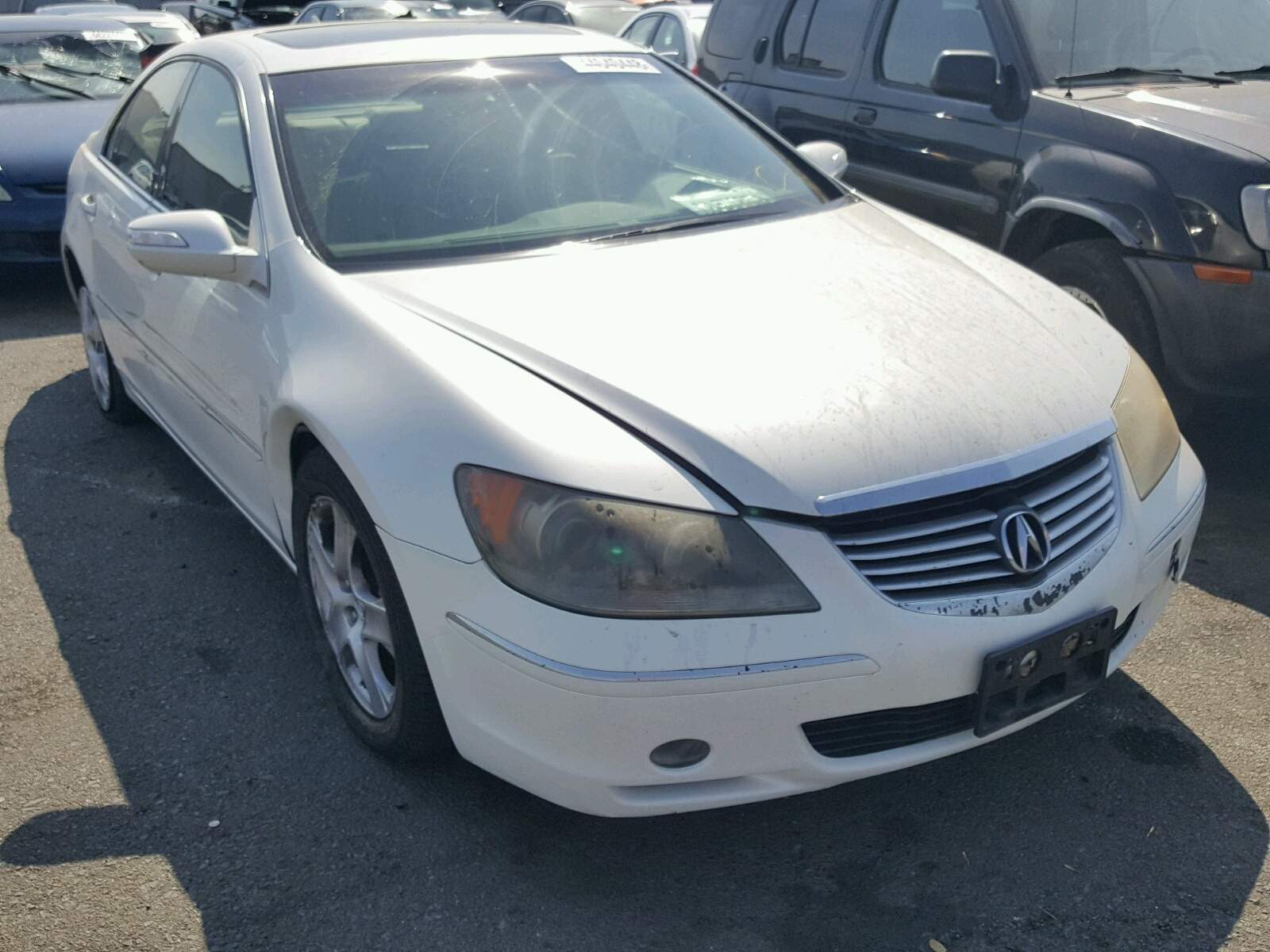 Acura RL For Sale At Copart Vallejo CA Lot - 2005 acura rl for sale by owner
