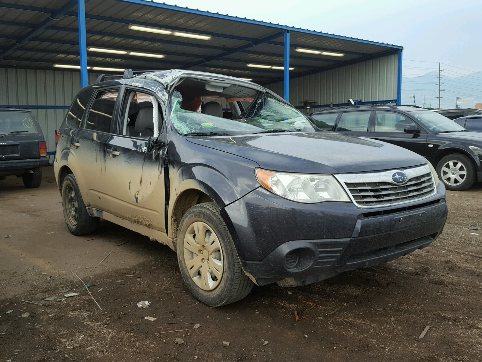 Salvage 2009 Subaru FORESTER 2 for sale