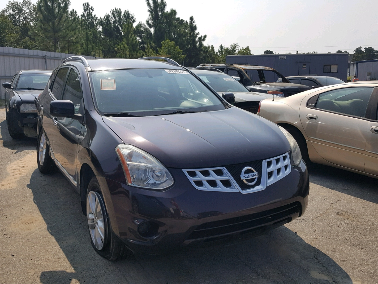 Salvage 2012 Nissan ROGUE S for sale