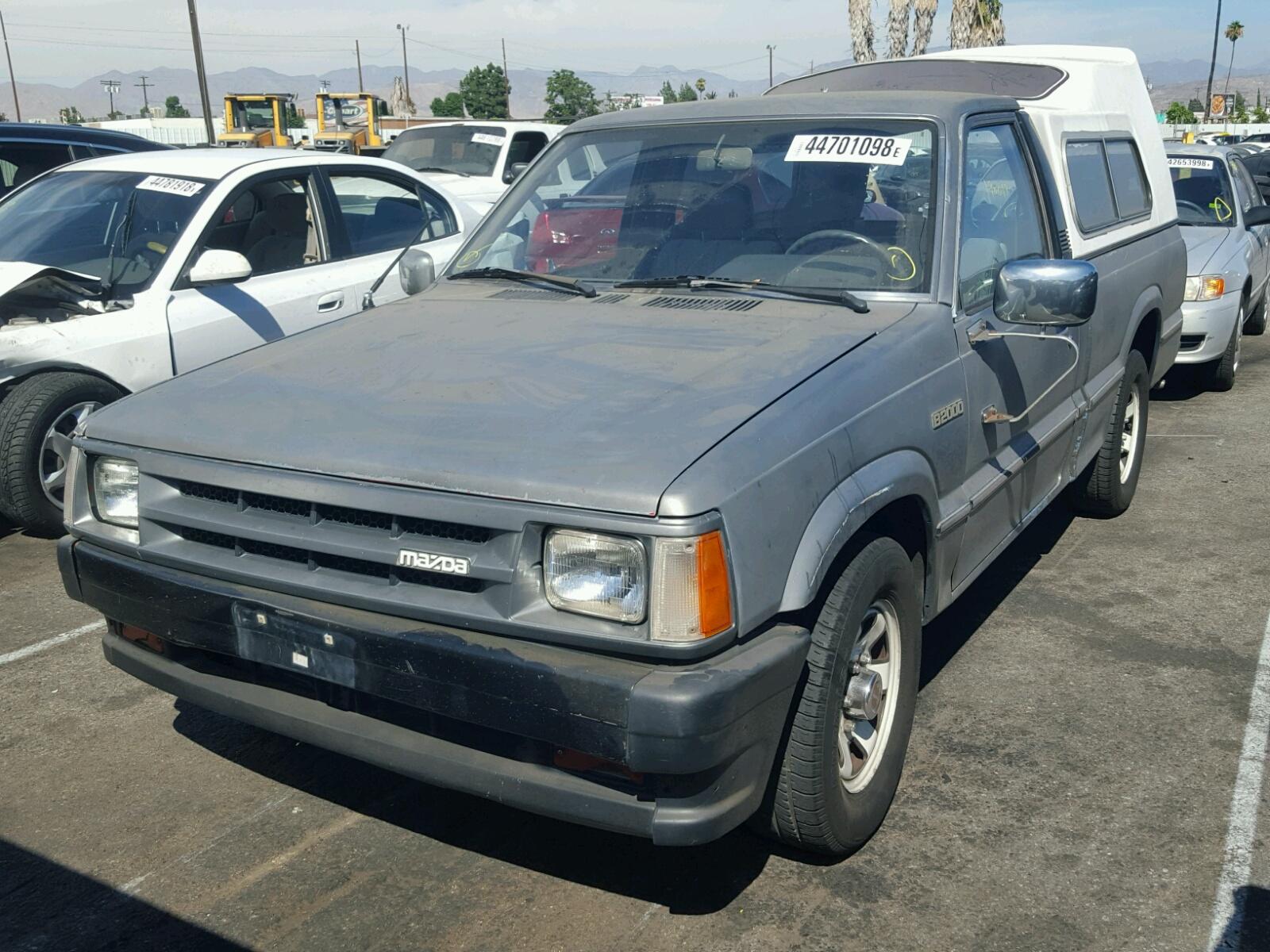 JM2UF1118G0518716   1986 GRAY MAZDA B2000 on Sale in CA - VAN NUYS ...
