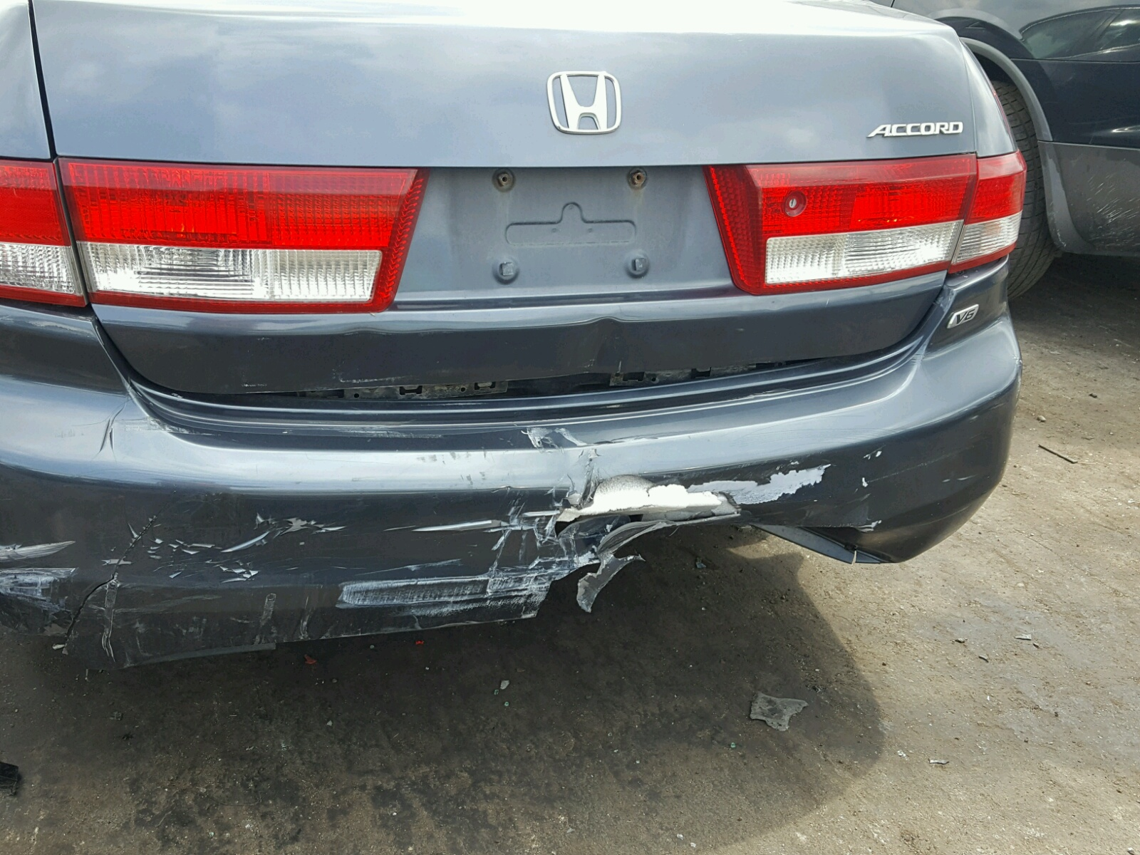 2003 Honda Accord Lx For Sale At Copart Chicago Heights Il Lot Tail Light