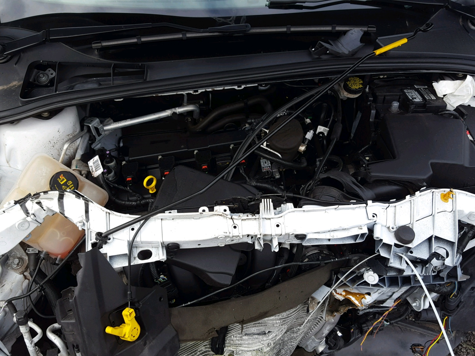 Auto Auction Ended On Vin 1fadp3f25el457115 2014 Ford Focus Se In Sunroof Wiring 20l Inside View