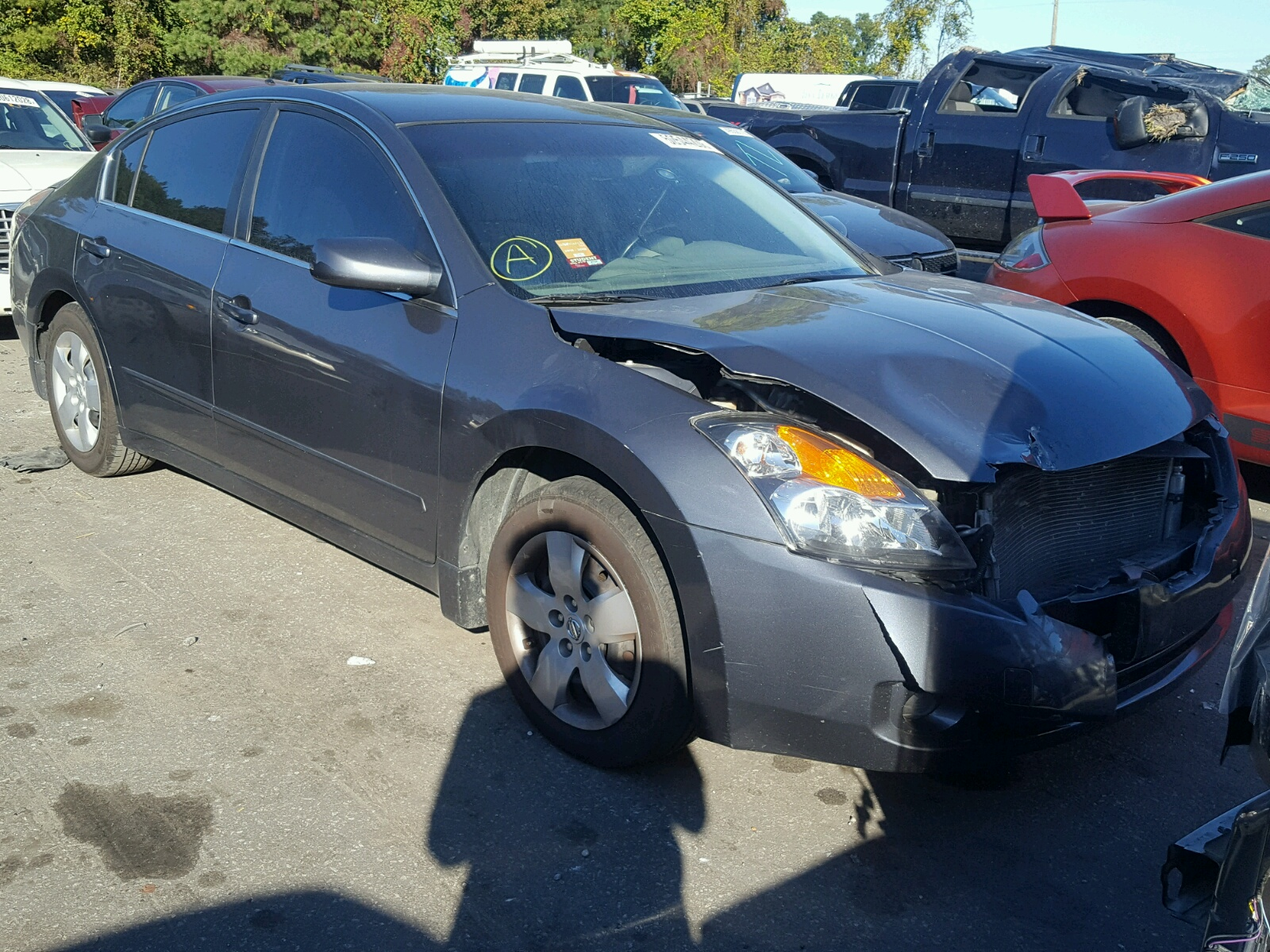 Salvage 2007 Nissan ALTIMA 2.5 for sale