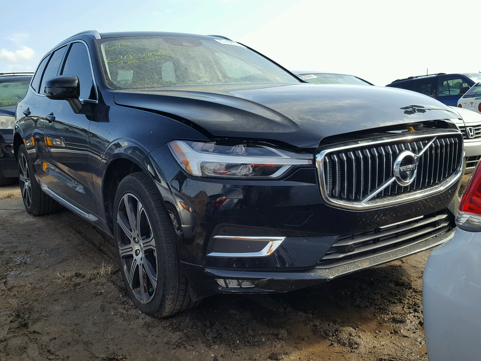 Salvage 2018 Volvo XC60 T6 for sale