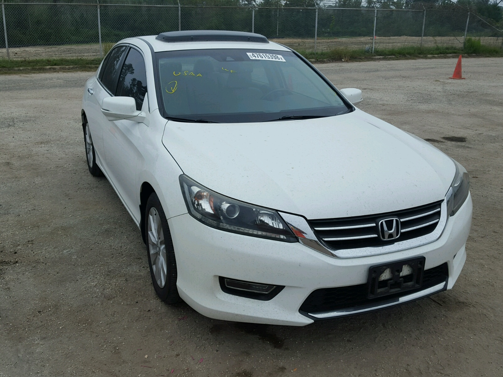 Salvage 2013 Honda ACCORD EXL for sale