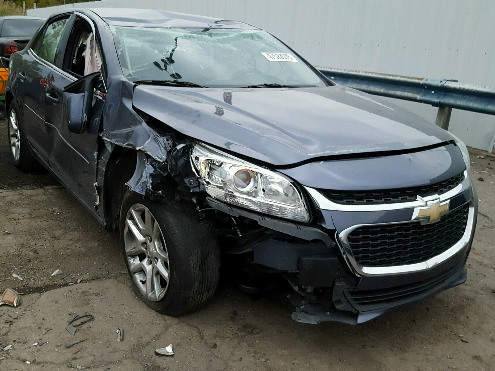 Salvage 2015 Chevrolet MALIBU 1LT for sale