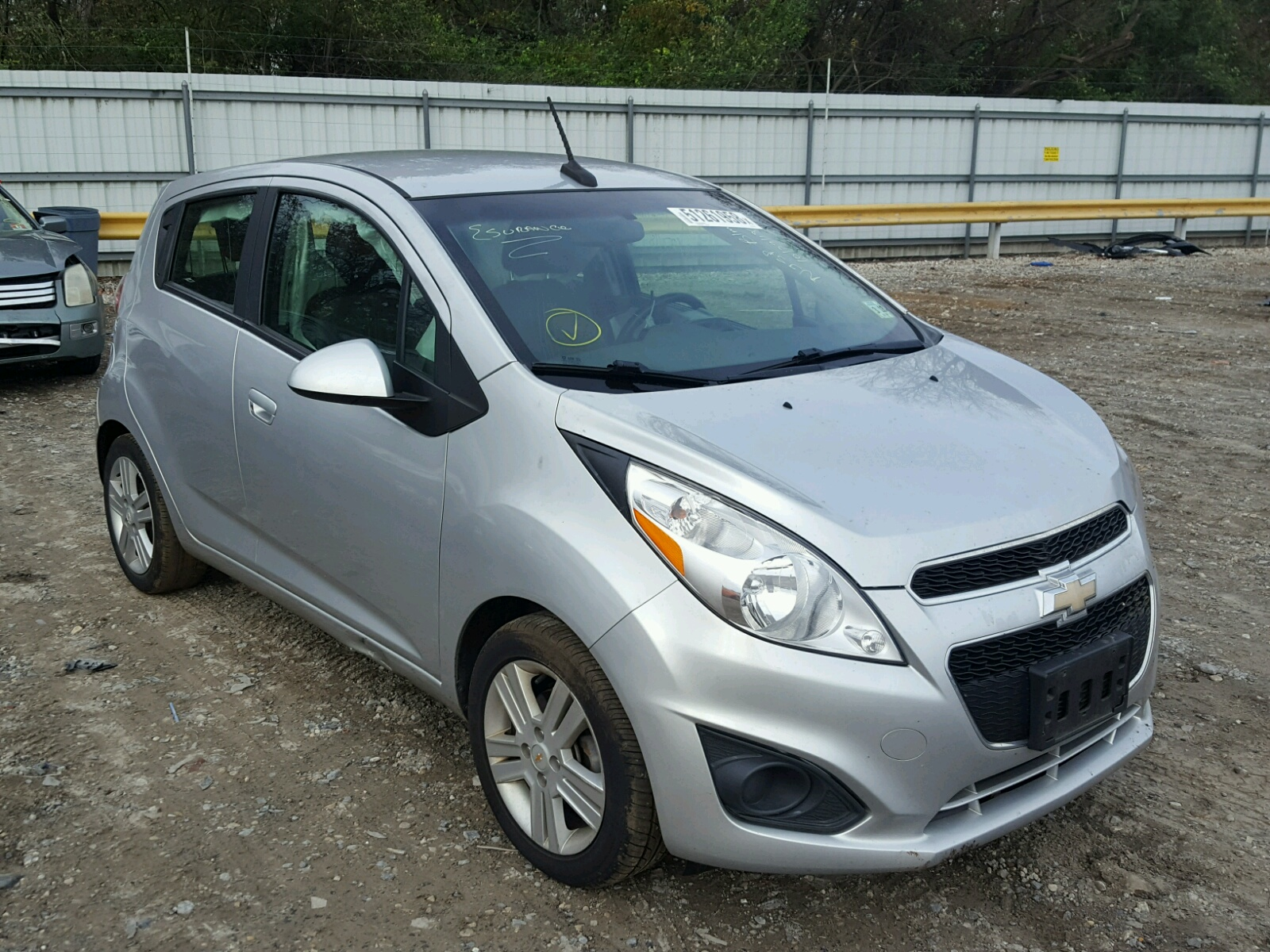 Salvage 2014 Chevrolet SPARK 1LT for sale