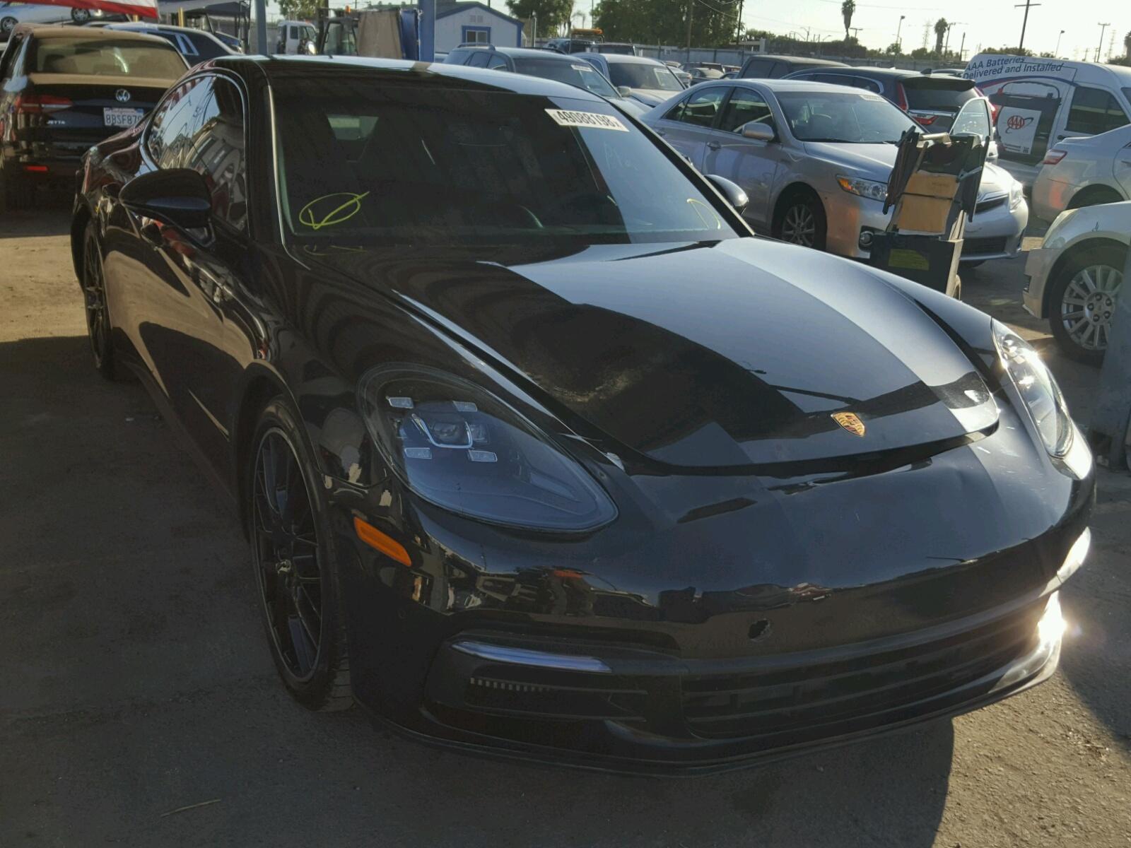 Copart Member Service Number >> 2018 Porsche Panamera 4 3.0L 6 in CA - Los Angeles (WP0AB2A70JL131614) for Sale – AutoBidMaster.com