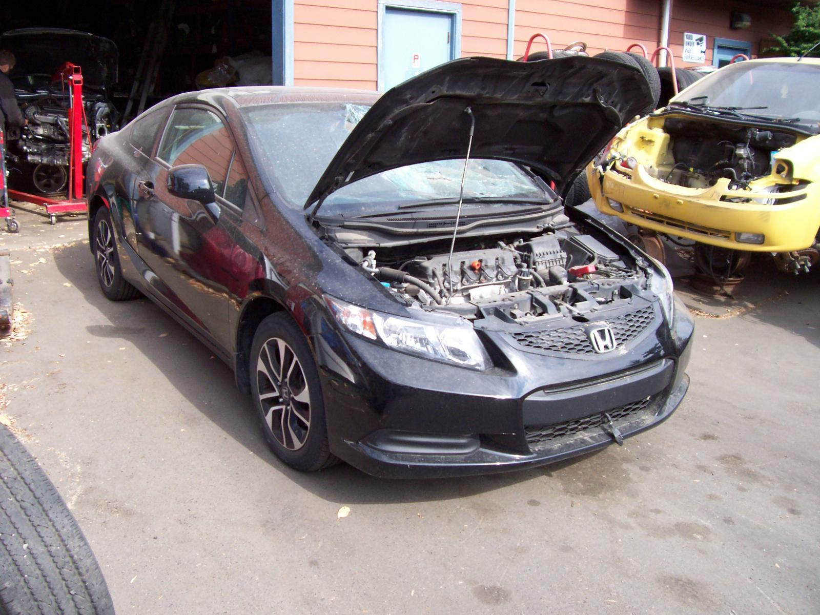 Salvage 2013 Honda CIVIC LX for sale