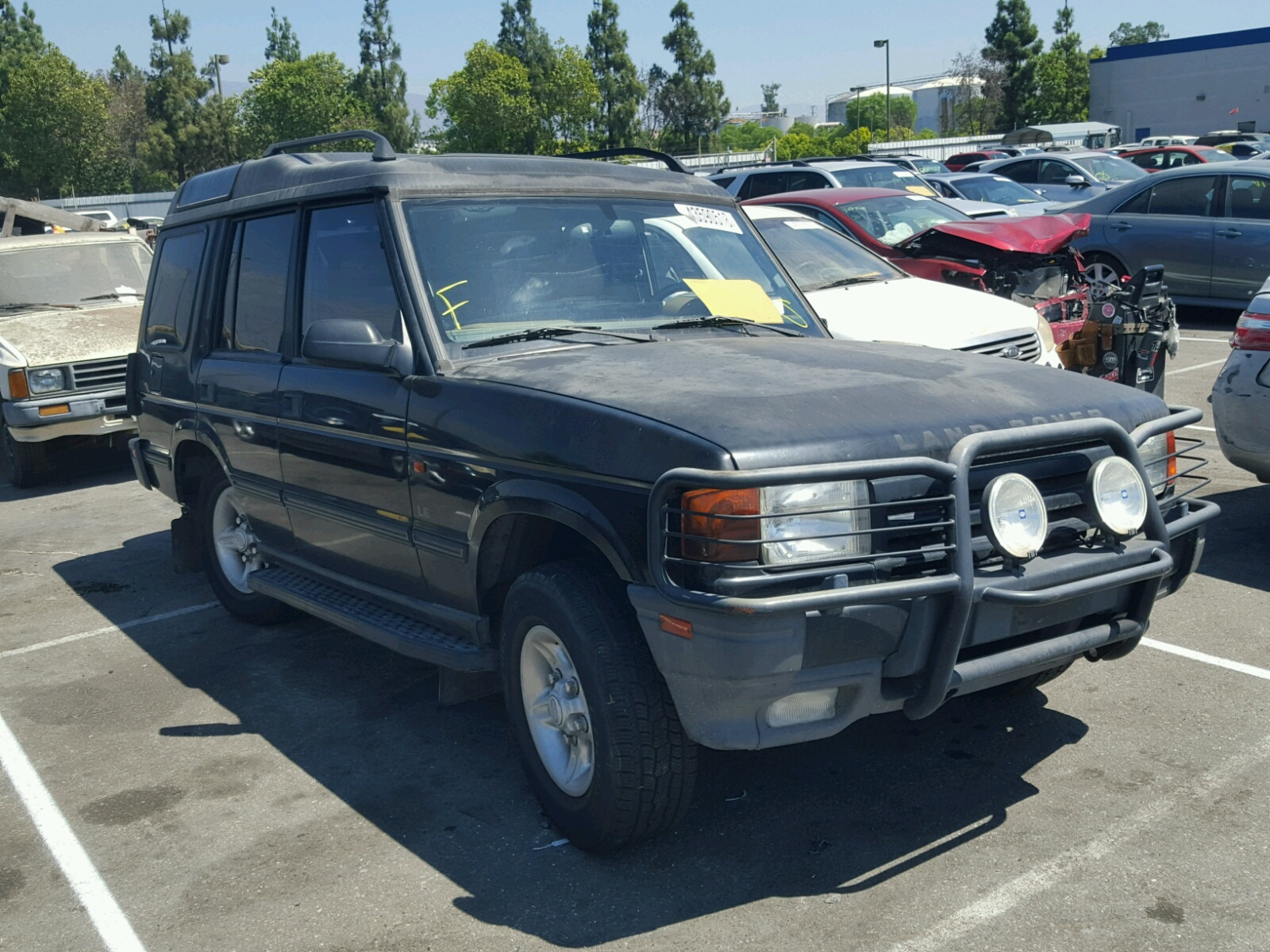 Saljy1246wa755233 1998 Black Land Rover Discovery On Sale In Ca 40l Left View