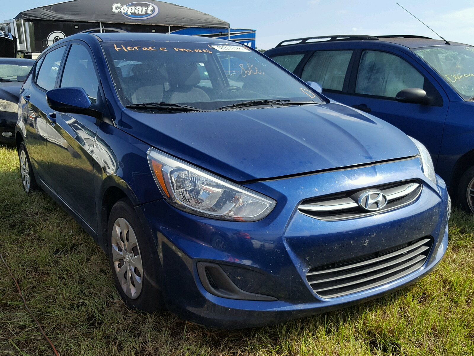 Salvage 2015 Hyundai ACCENT GS for sale