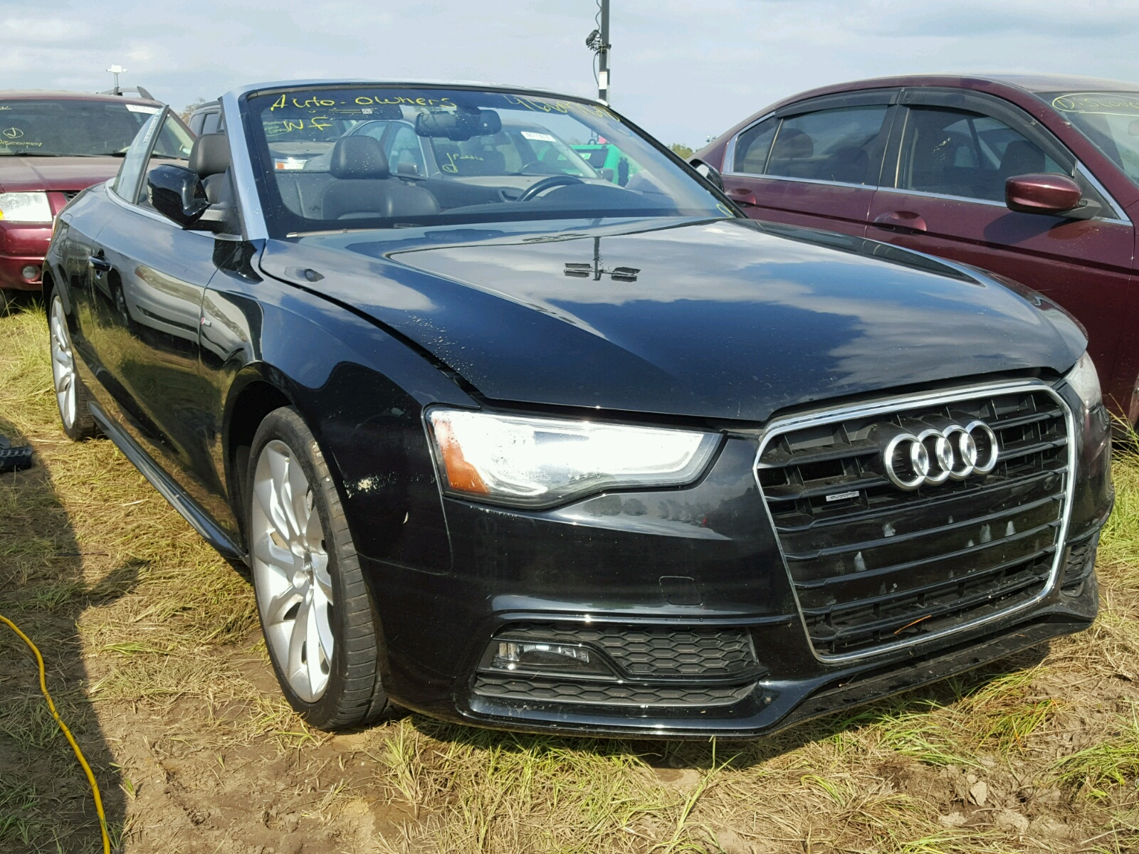 Salvage 2015 Audi A5 PREMIUM for sale