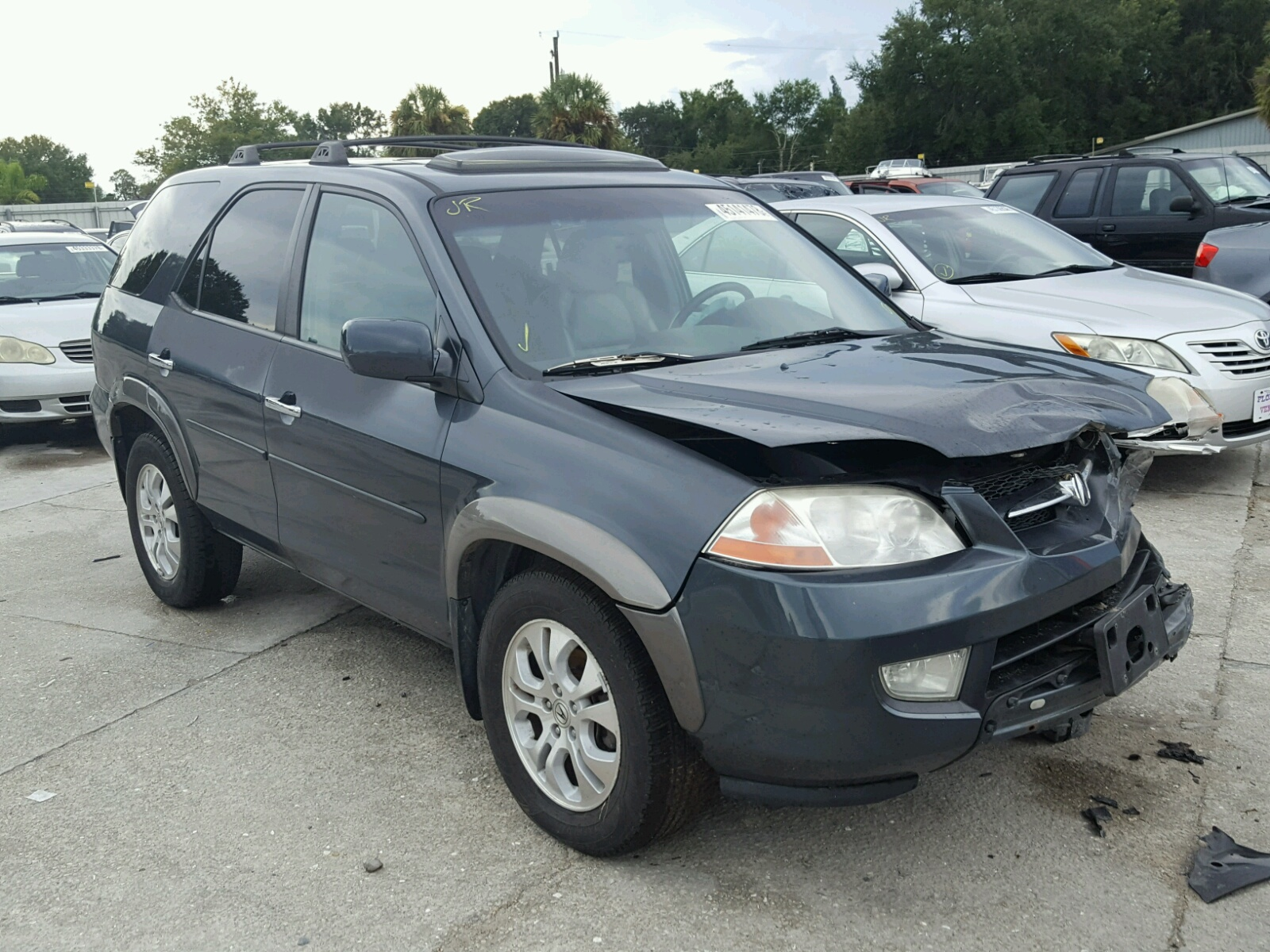 Acura MDX Touring For Sale At Copart Punta Gorda FL Lot - Acura mdx 2003 for sale