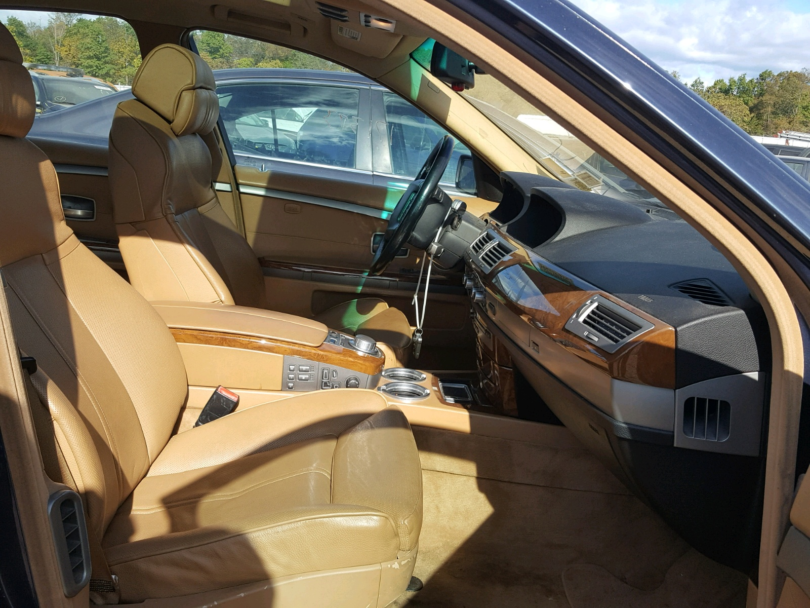 2006 Bmw 750 I 4 8L 8 in NJ Somerville WBAHL DT for
