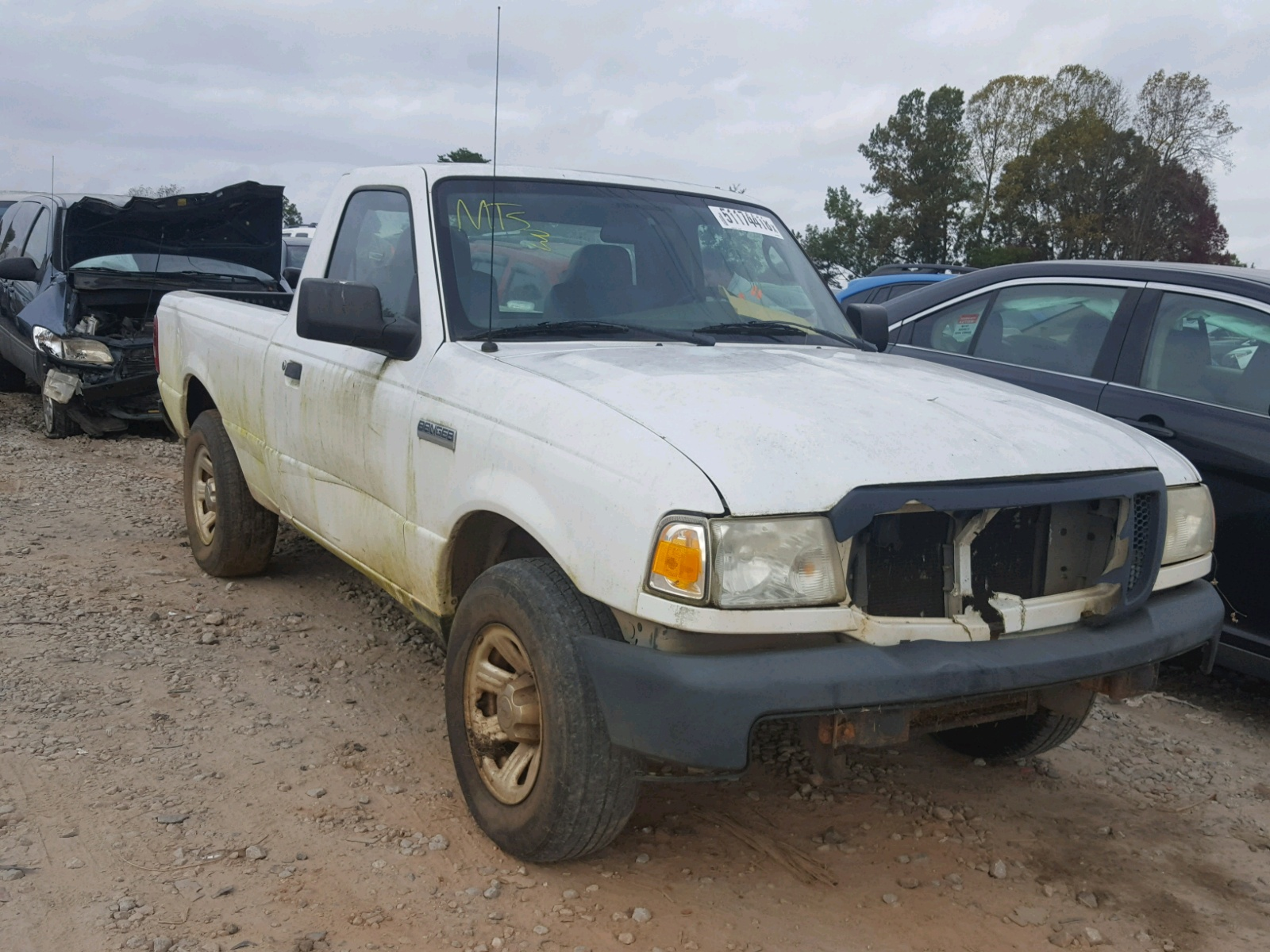 Salvage 2007 Ford RANGER for sale