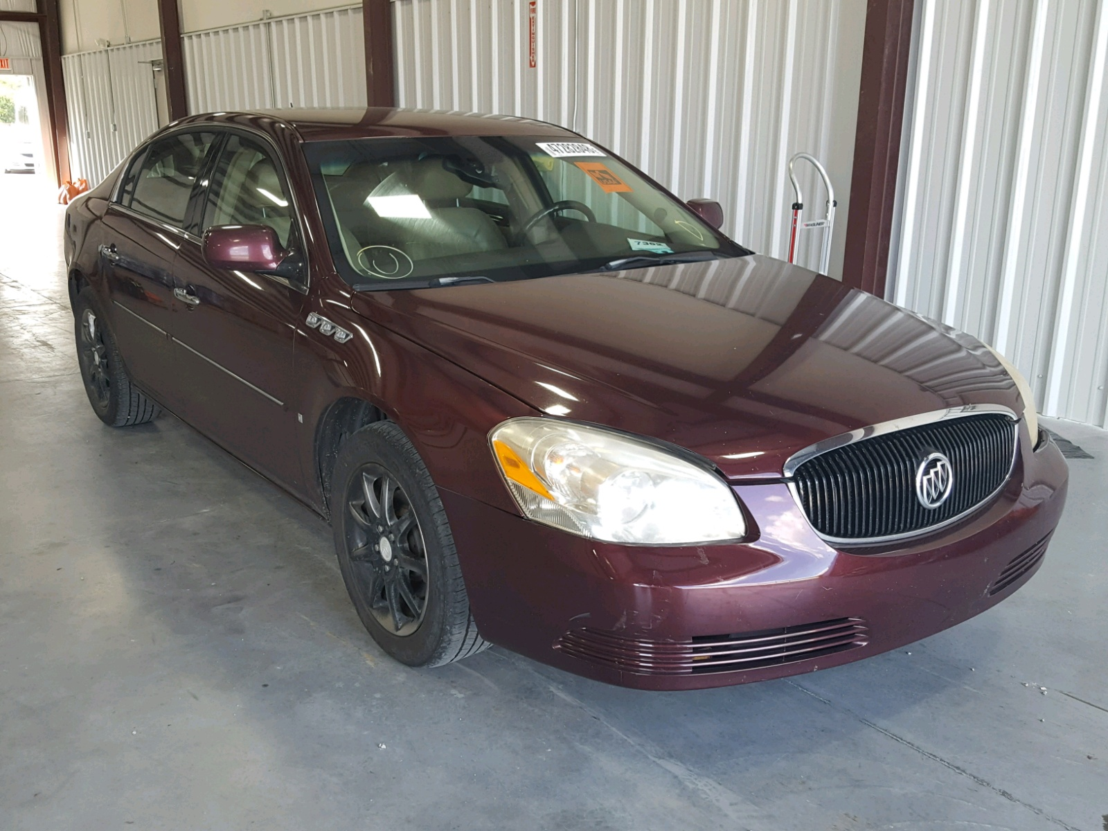 Salvage 2007 Buick LUCERNE CX for sale