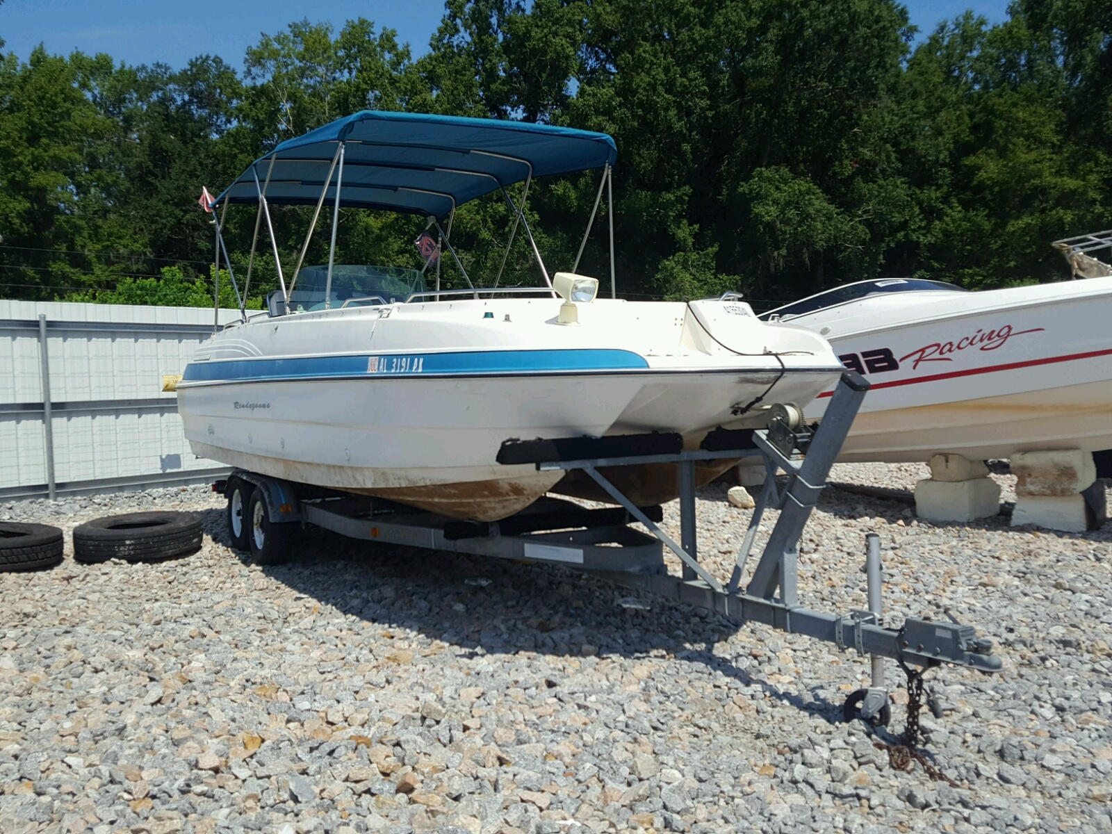 Salvage 1995 Bayliner RENDEZVOUS for sale