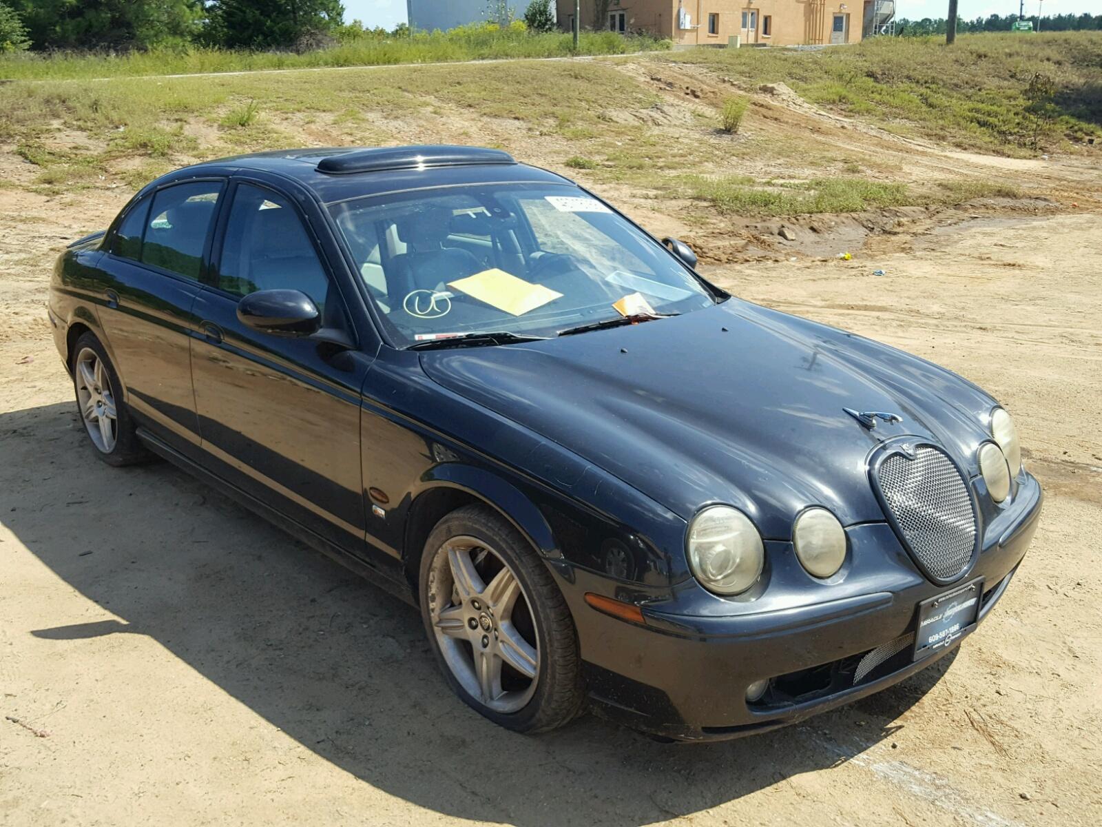 Salvage 2003 Jaguar S-TYPE R for sale