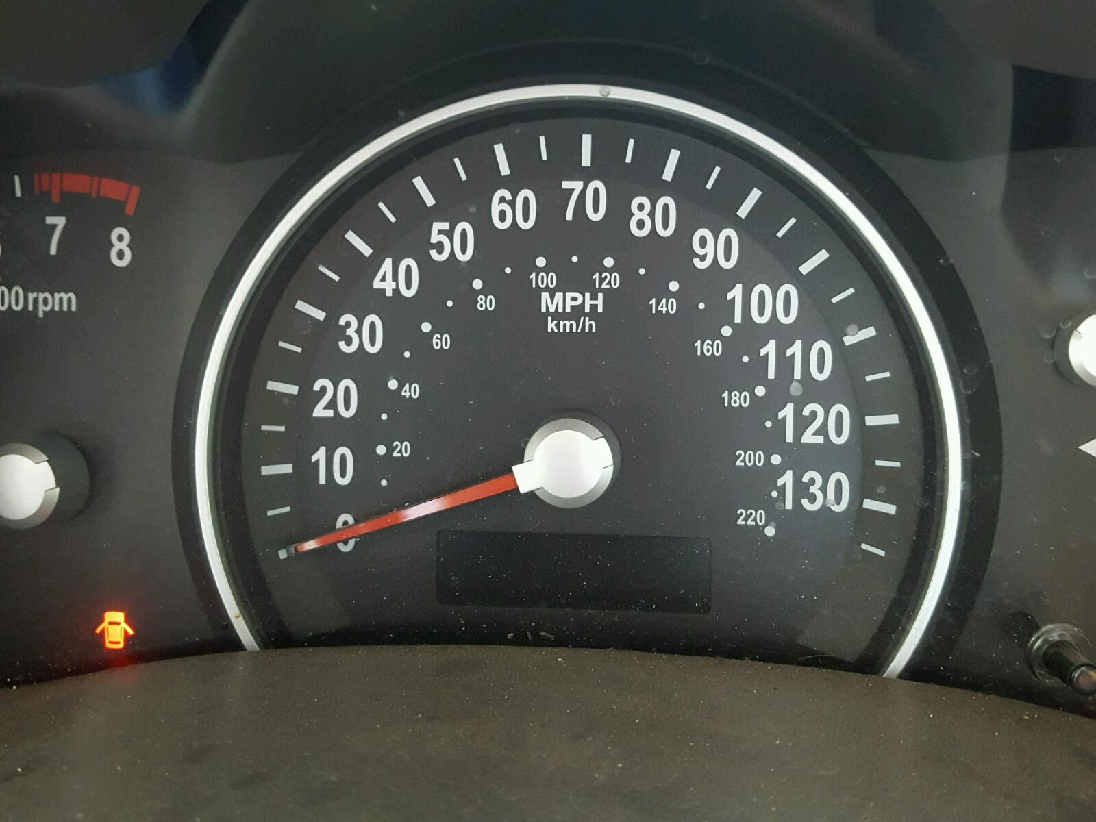 2011 Kia Sedona Lx For Sale At Copart Haslet Tx Lot 45932118 Gauges