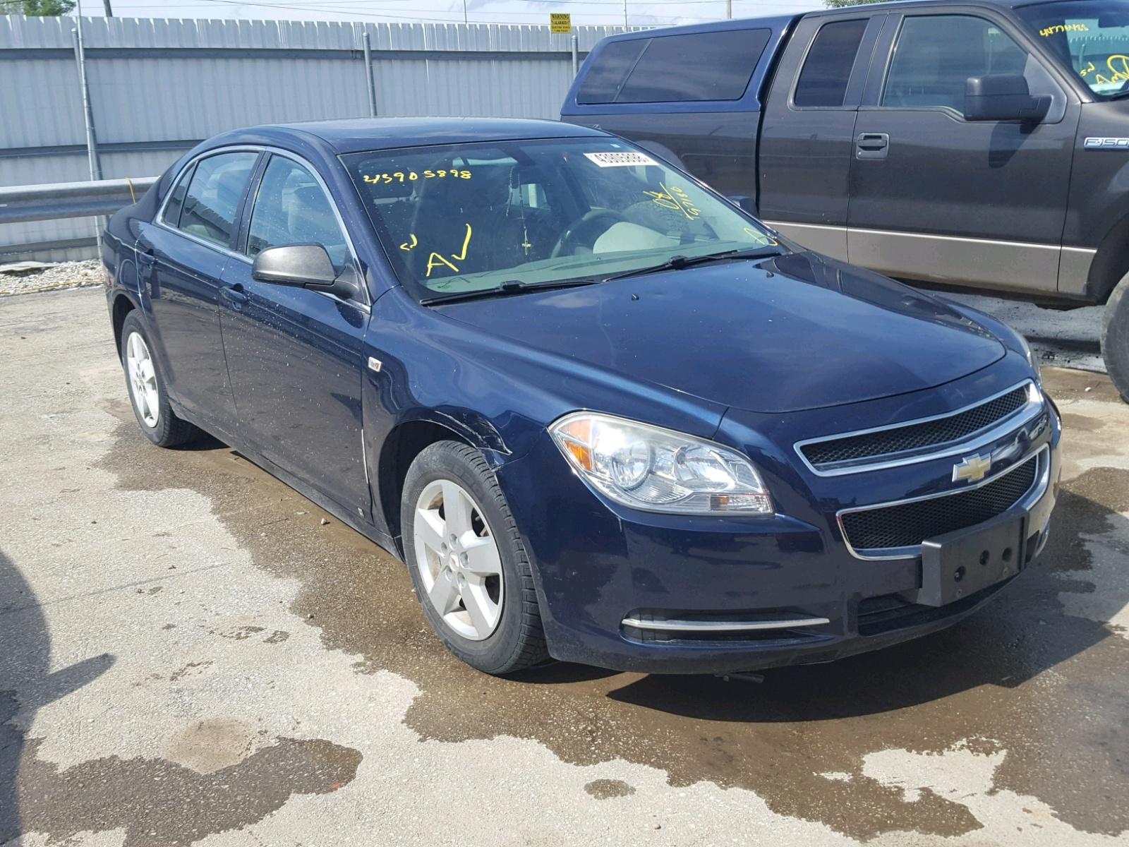 Auto Auction Ended on VIN 1G1ZG57B 2008 Chevrolet Malibu