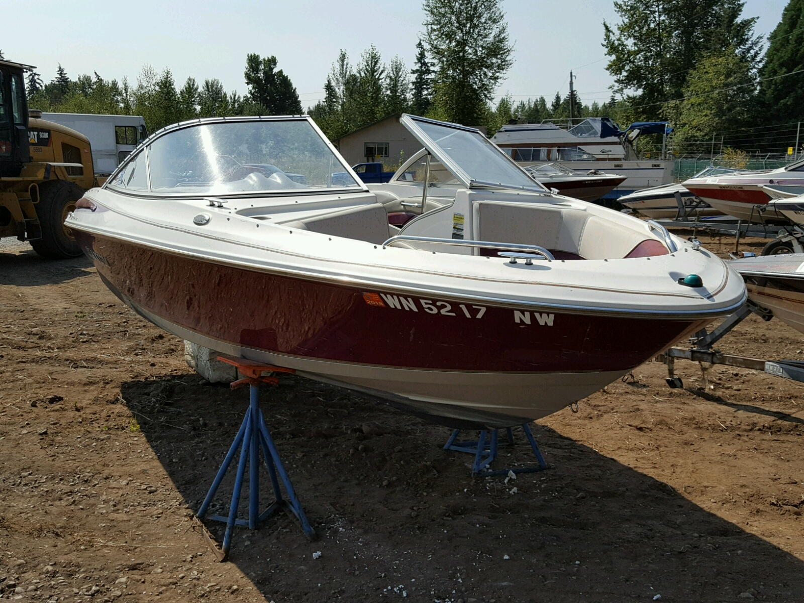 Salvage 1998 Maxum OTHER for sale