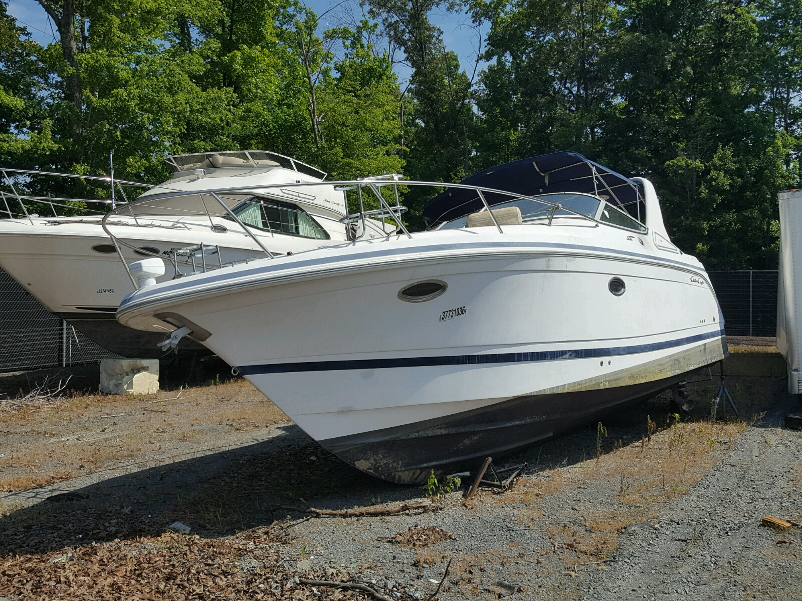 Salvage 2002 Chris Craft BOAT for sale