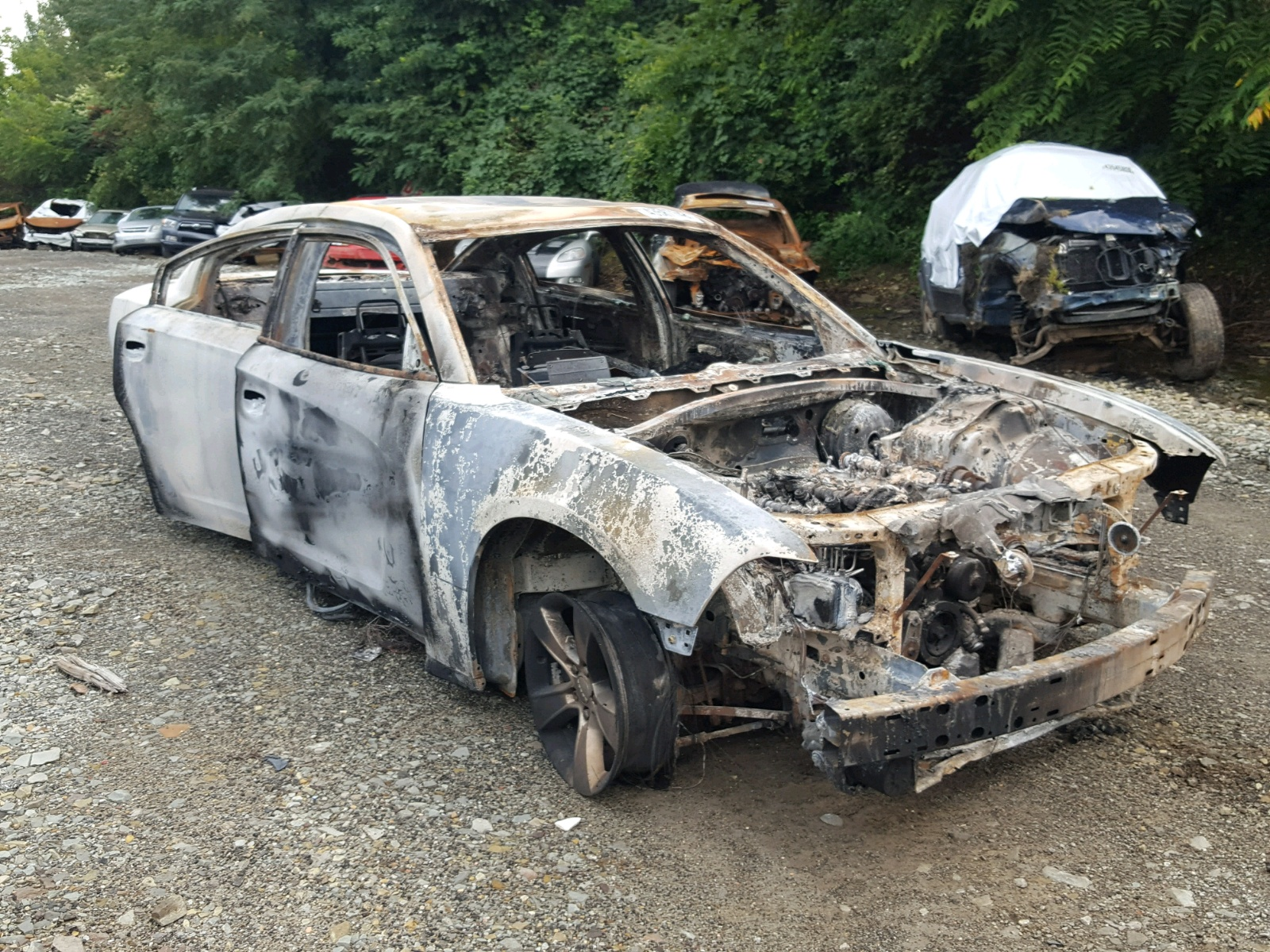 Salvage 2011 Dodge CHARGER for sale