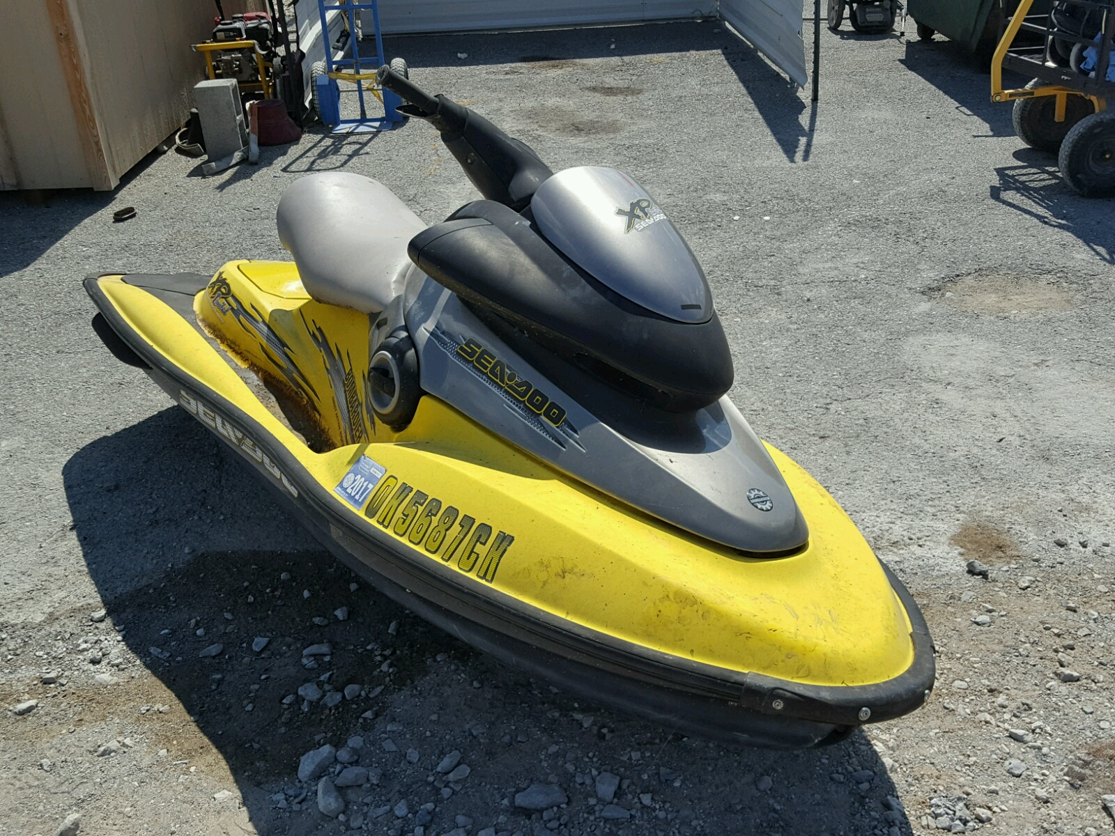 Salvage 1999 Seadoo BOMBARDIER for sale