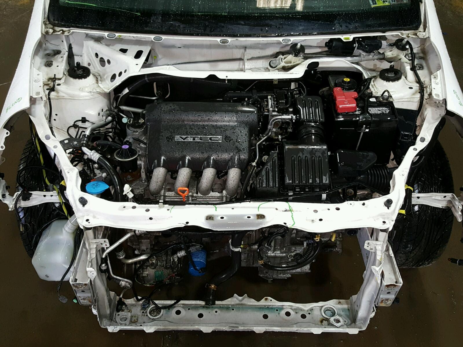 ... JHMGD38667S027133   2007 Honda Fit S 1.5L Inside View JHMGD38667S027133  ...