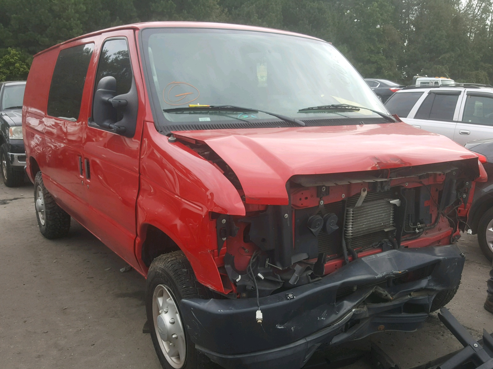 Salvage 2011 Ford ECONOLINE for sale