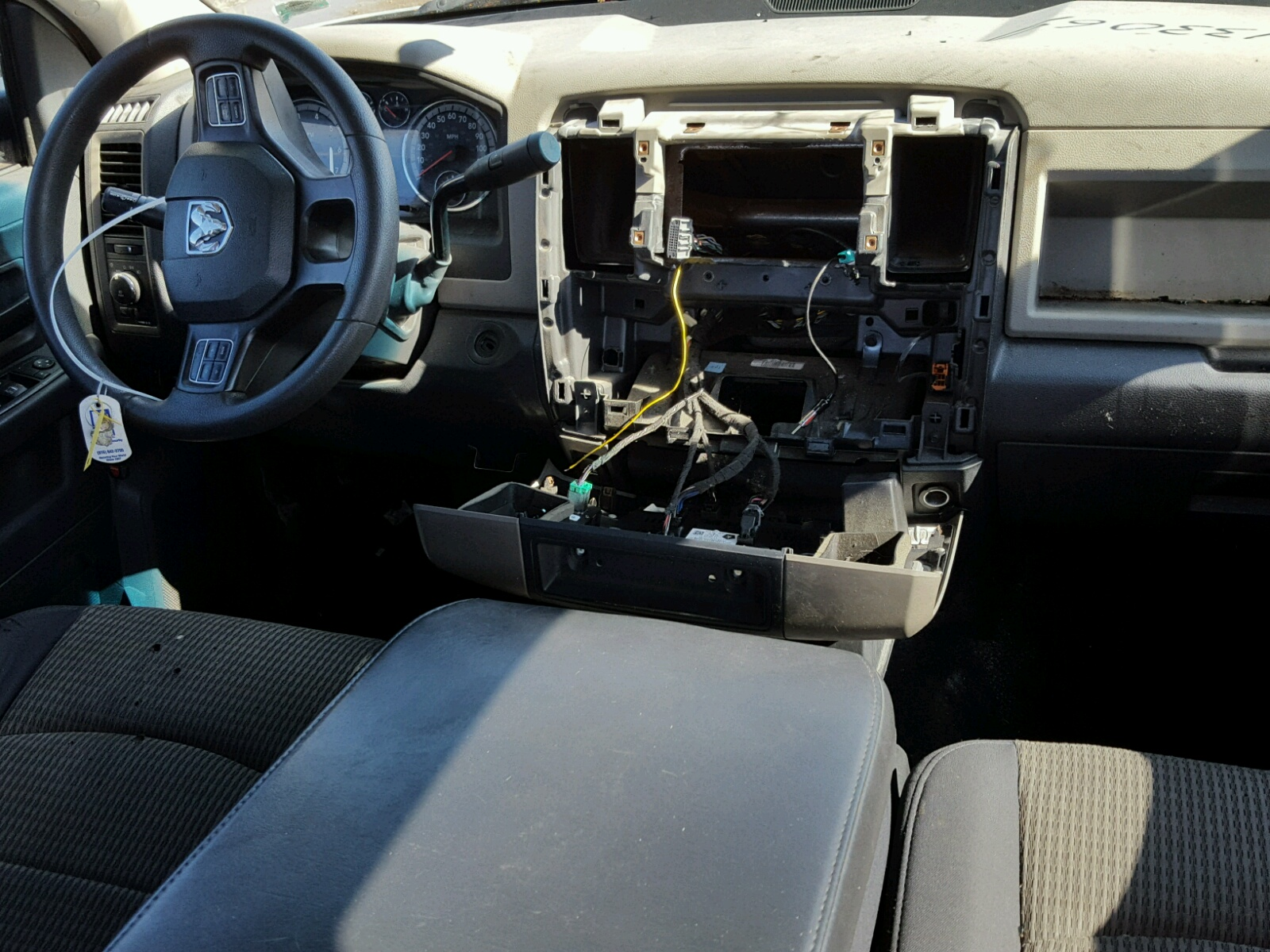Auto Auction Ended On Vin 1c6rd7kt3cs133069 2012 Dodge Ram 1500 S Steering 57l Engine View