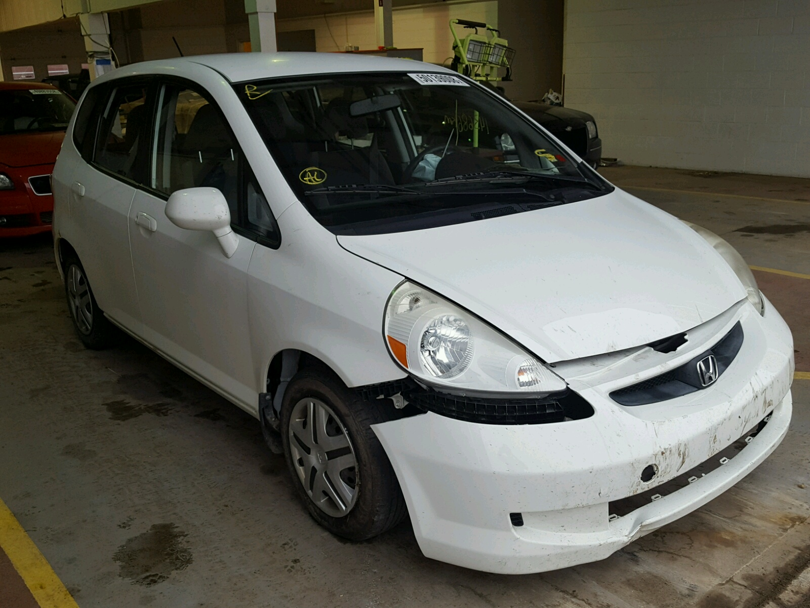 Salvage 2008 Honda FIT for sale