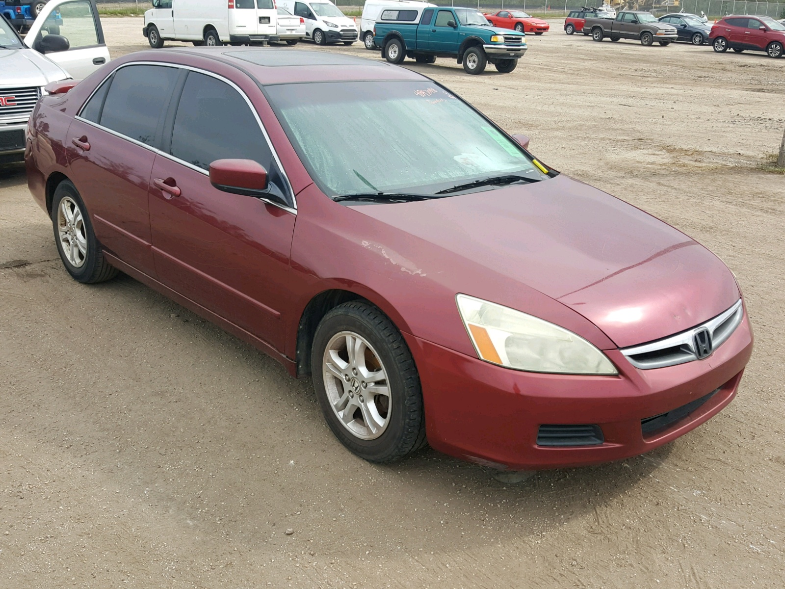 Salvage 2006 Honda ACCORD EX for sale