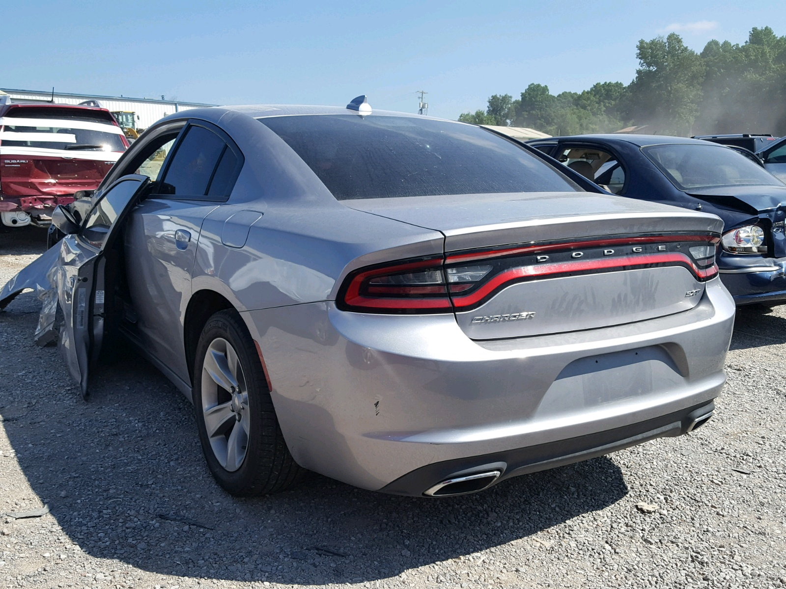 Auto Auction Ended on VIN 2C3CDXHG5HH 2017 Dodge Charger Sx