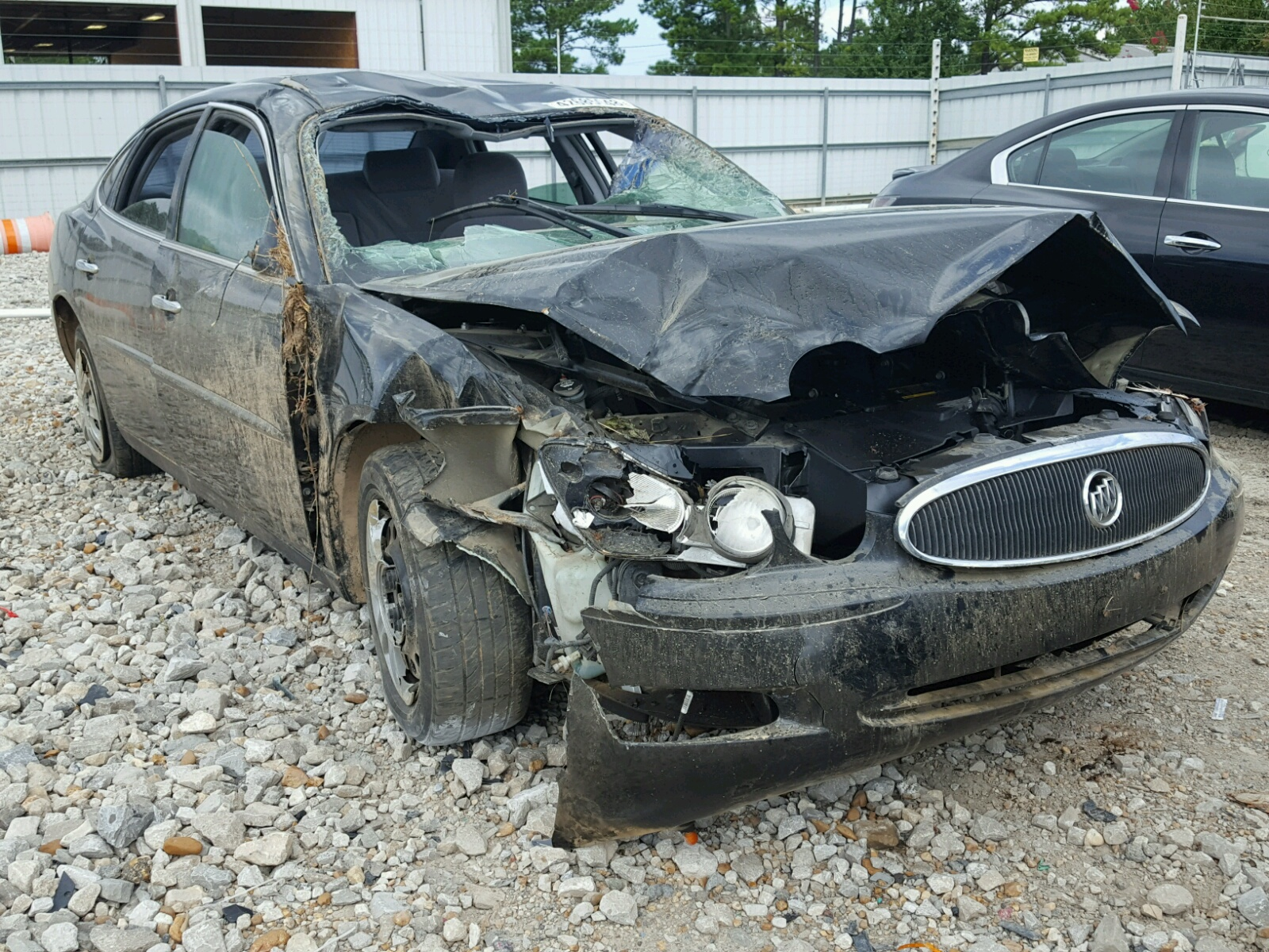 Salvage 2007 Buick LACROSSE C for sale