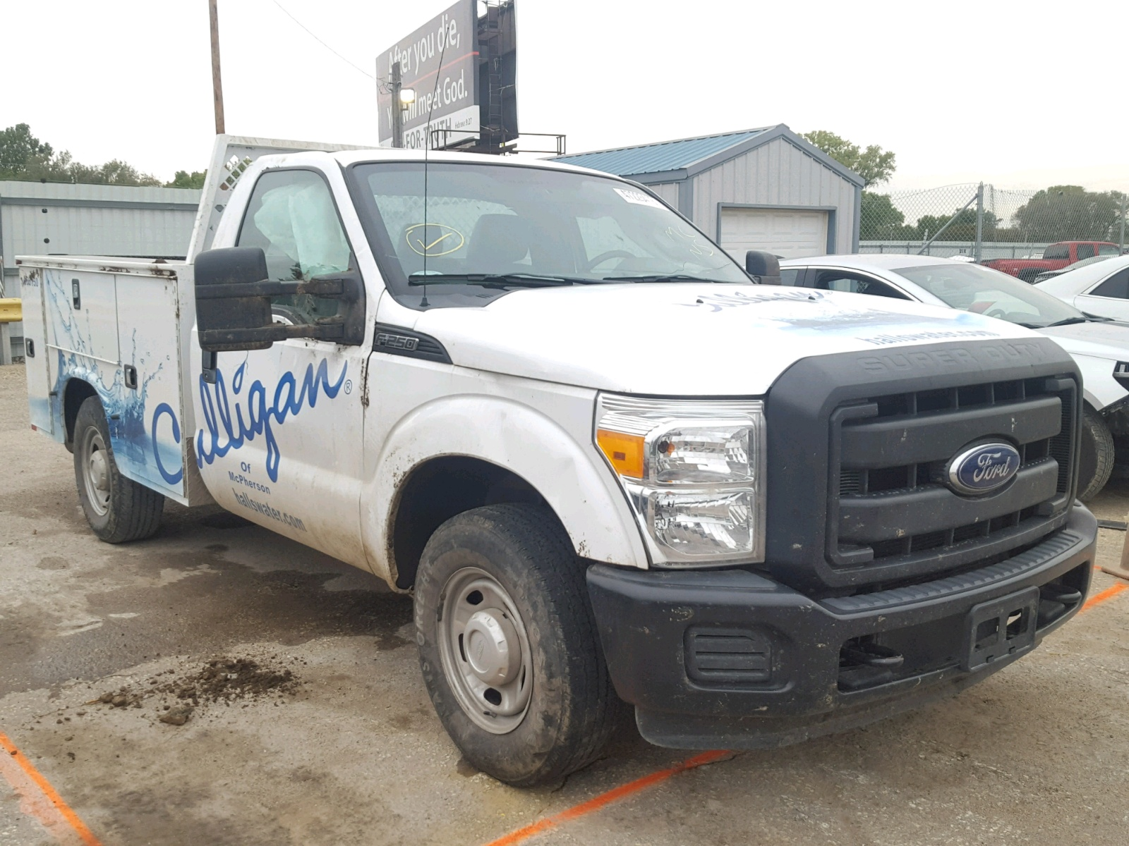 Salvage 2016 Ford F250 SUPER for sale