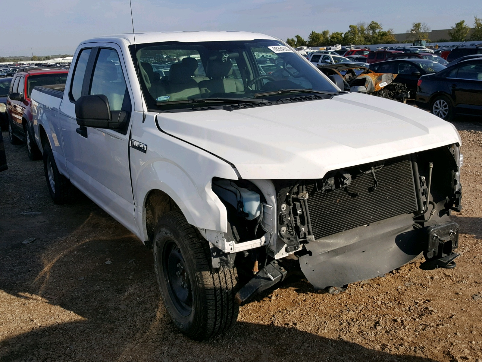 Salvage 2016 Ford F150 SUPER for sale