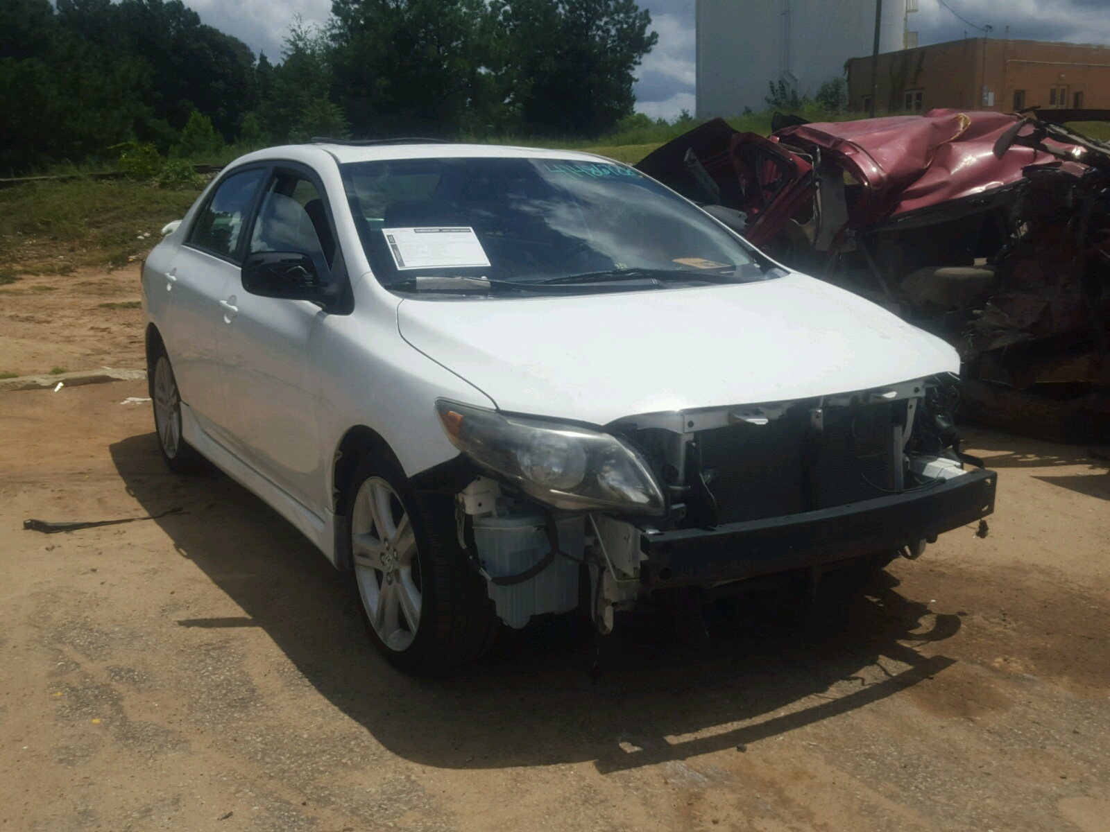 Salvage 2010 Toyota COROLLA XR for sale