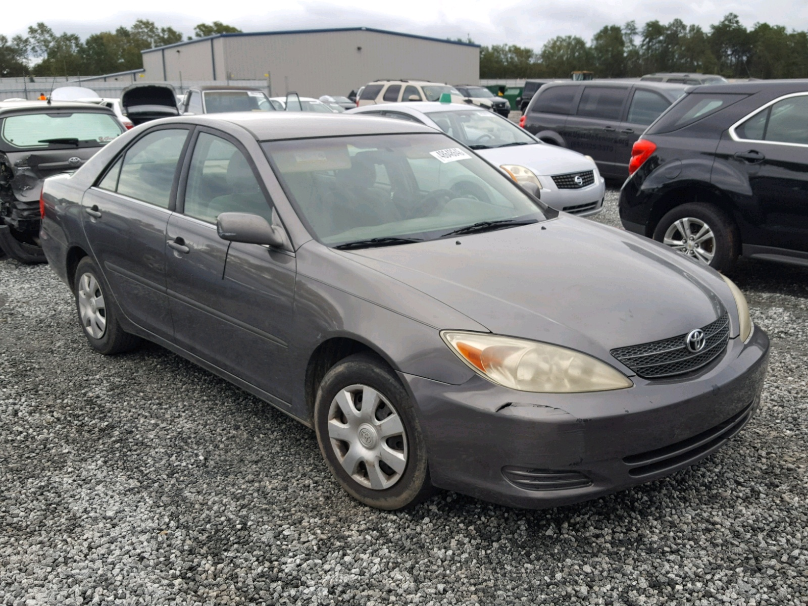 Salvage 2003 Toyota CAMRY LE for sale