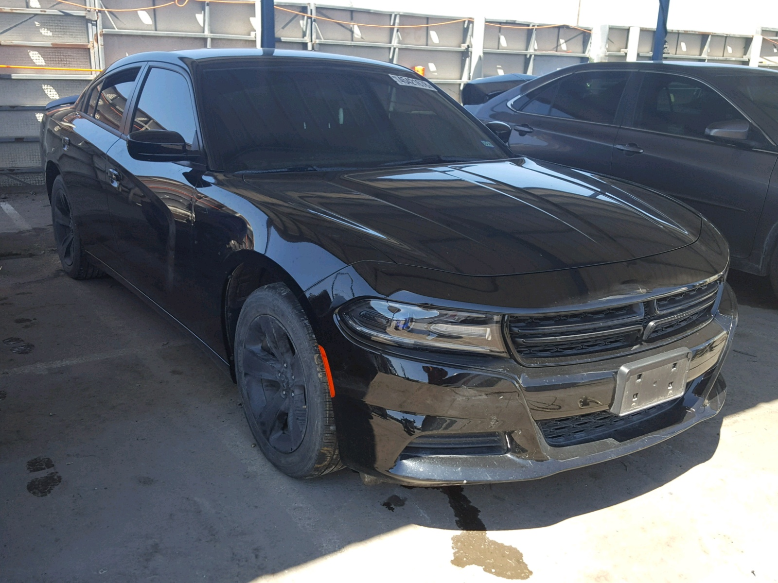 Salvage 2018 Dodge CHARGER SX for sale