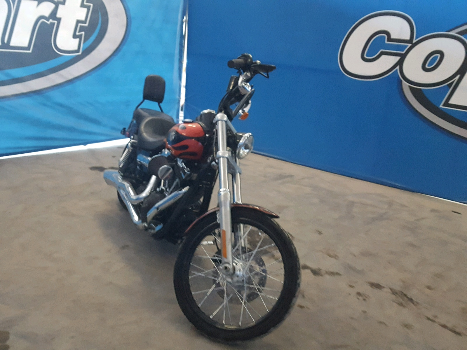 Salvage 2012 Harley-Davidson FXDWG DYNA for sale